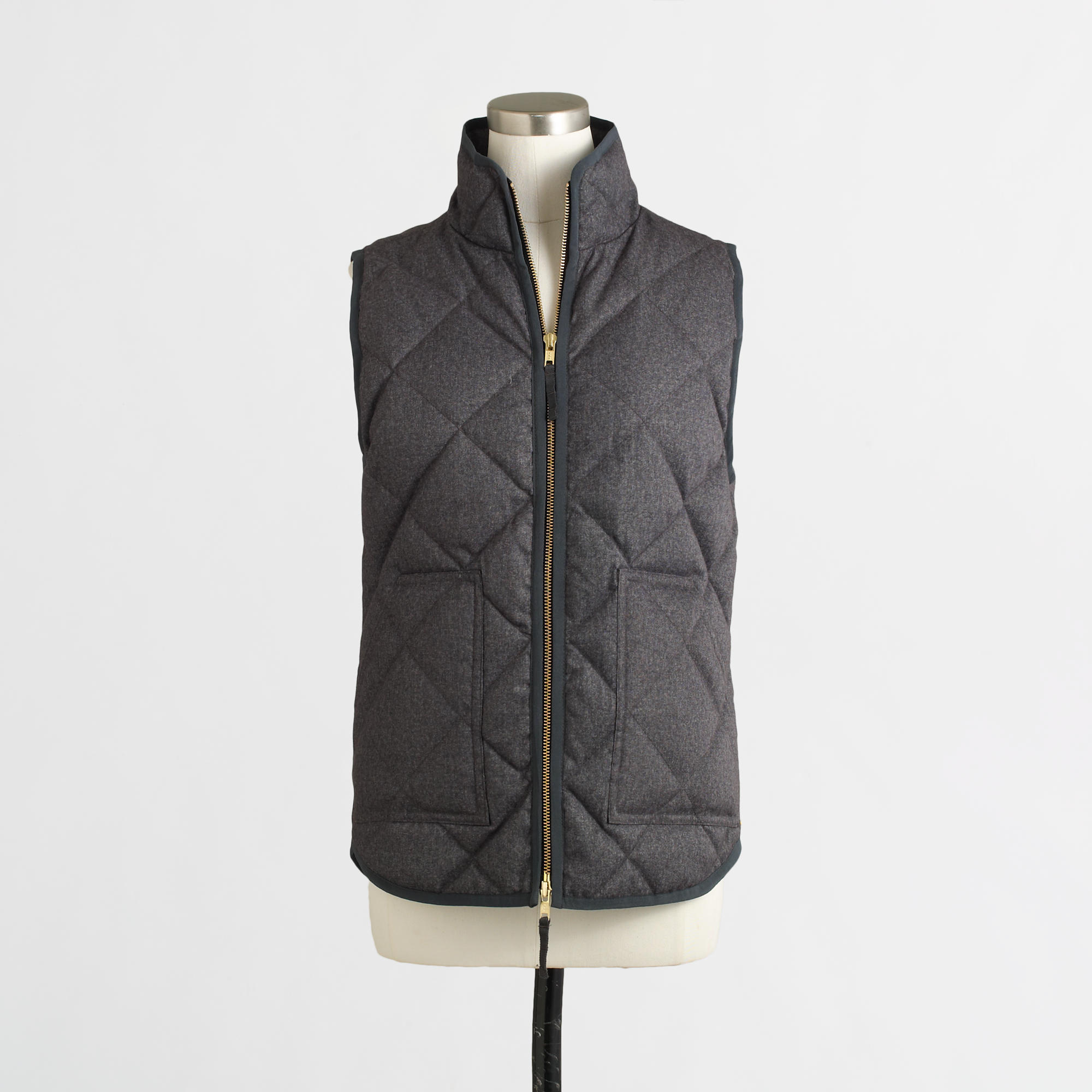 J.Crew Factory Puffer Vests - Kelly in the City