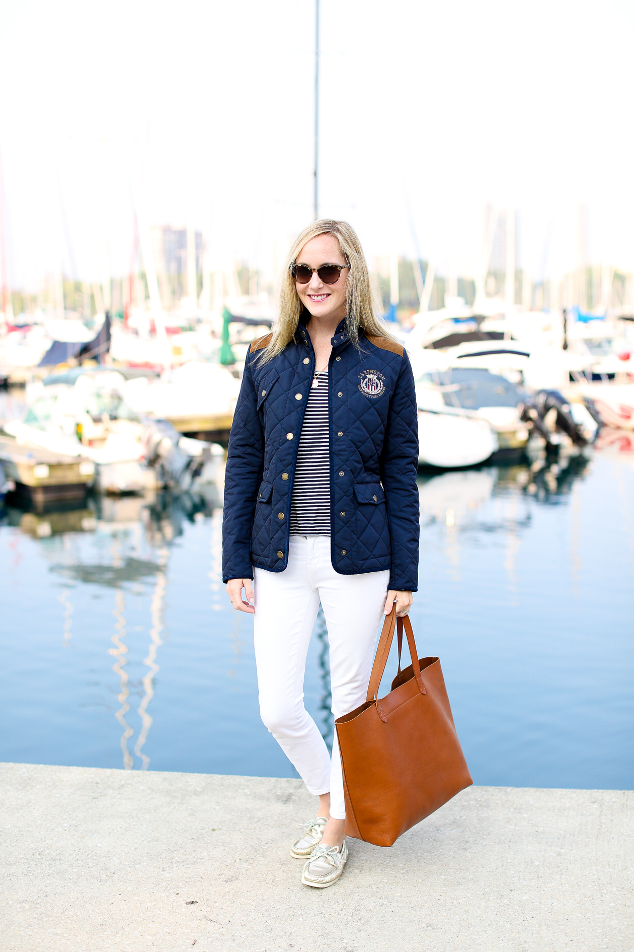 Lexington Navy Quilted Jacket-104