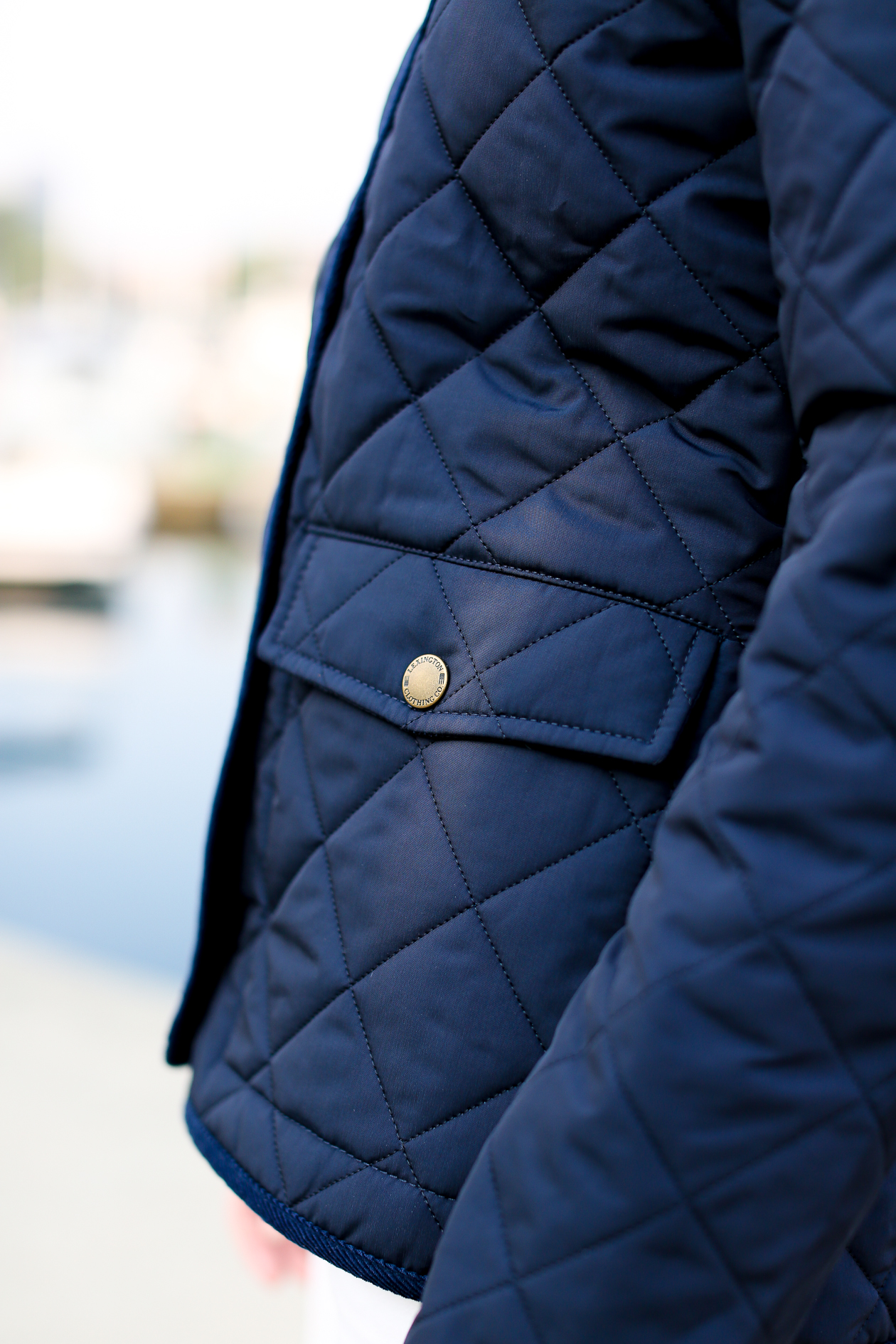 Lexington Navy Quilted Jacket-136