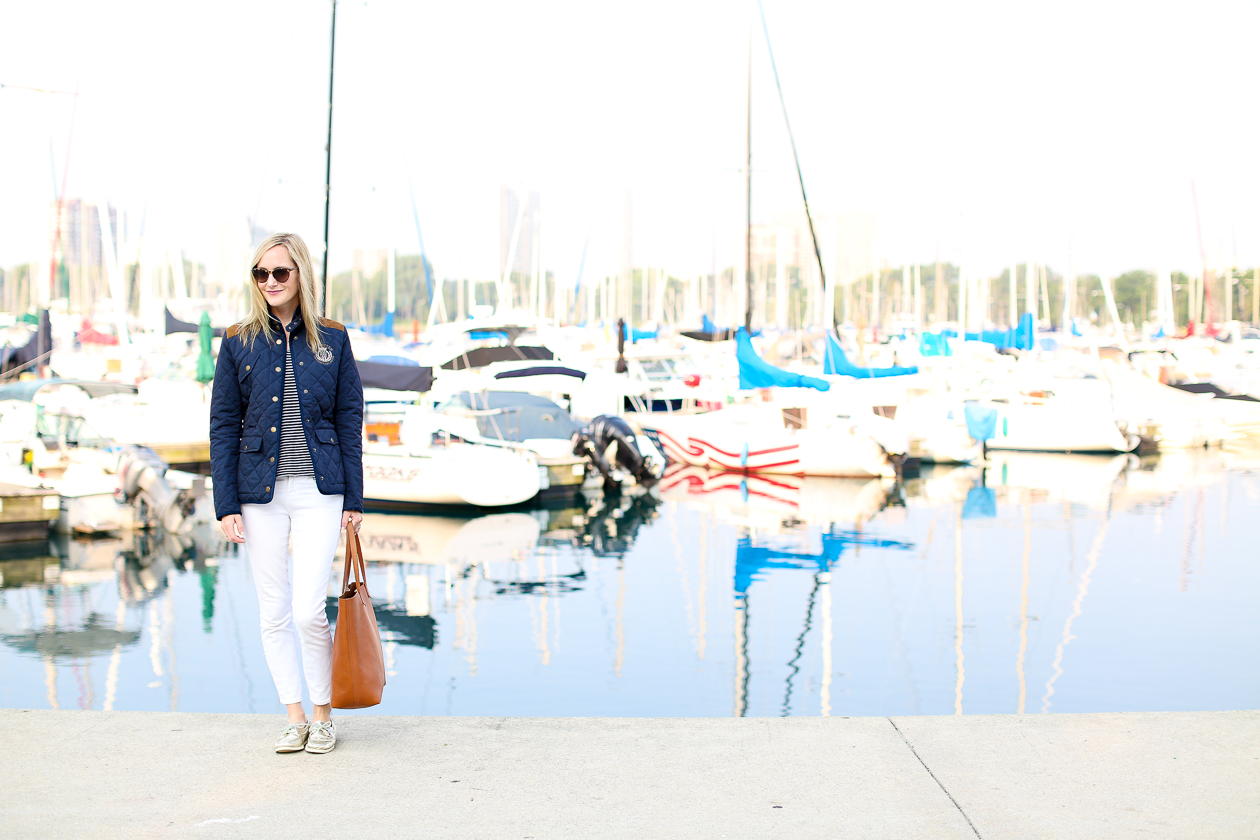 Lexington Navy Quilted Jacket-144