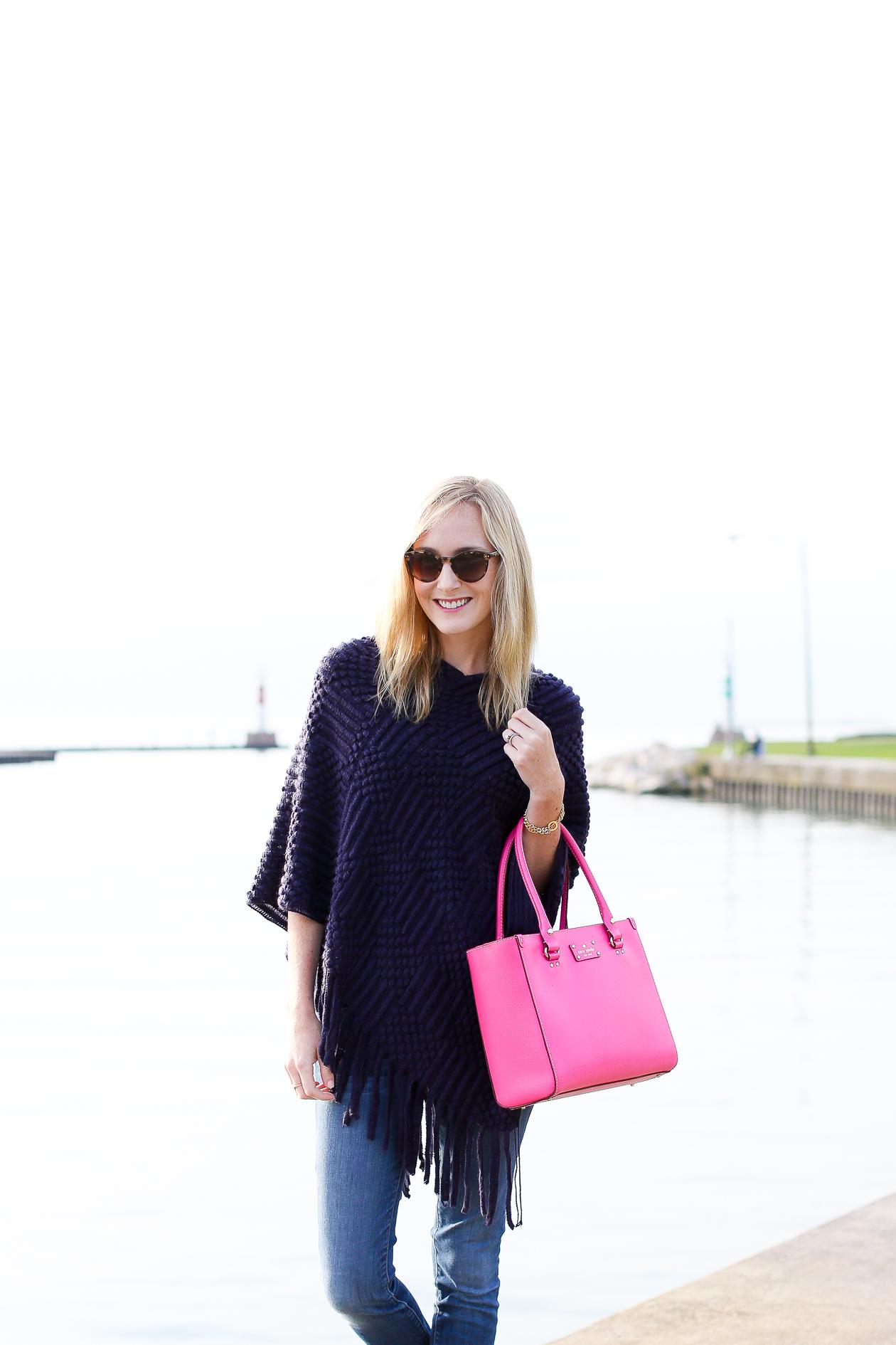 Pink Square Kate Spade Bag-105