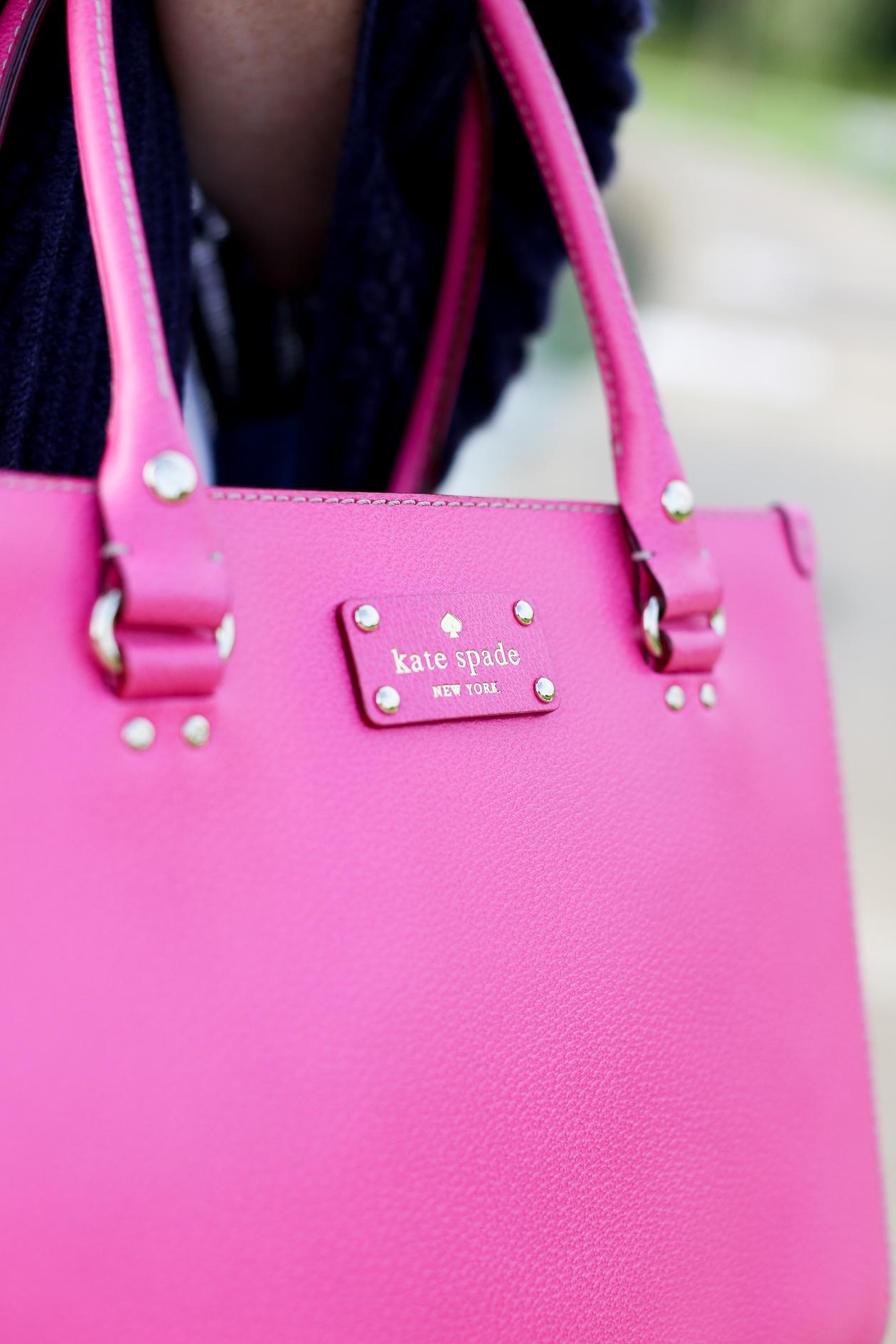Pink Square Kate Spade Bag-12