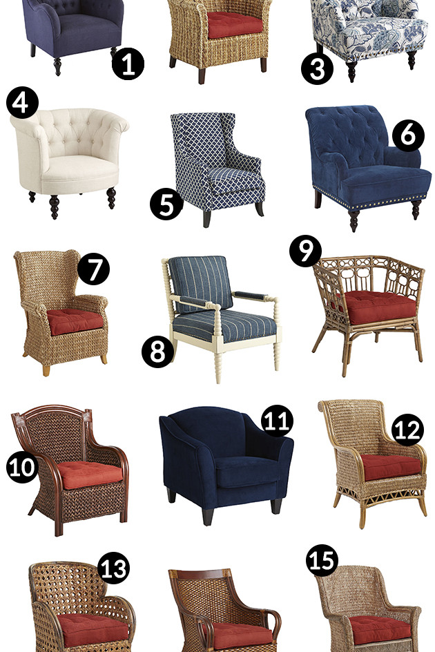 ... 15 Adorably Preppy Accent Chairs From Pier 1