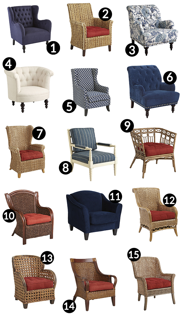 Trend Pier One Accent Chairs Decoration