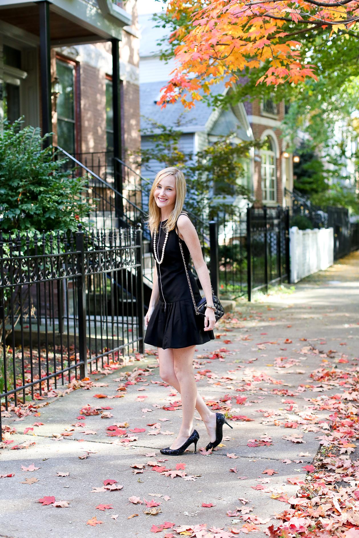 Camilyn Beth Black Ruffled Dress-4