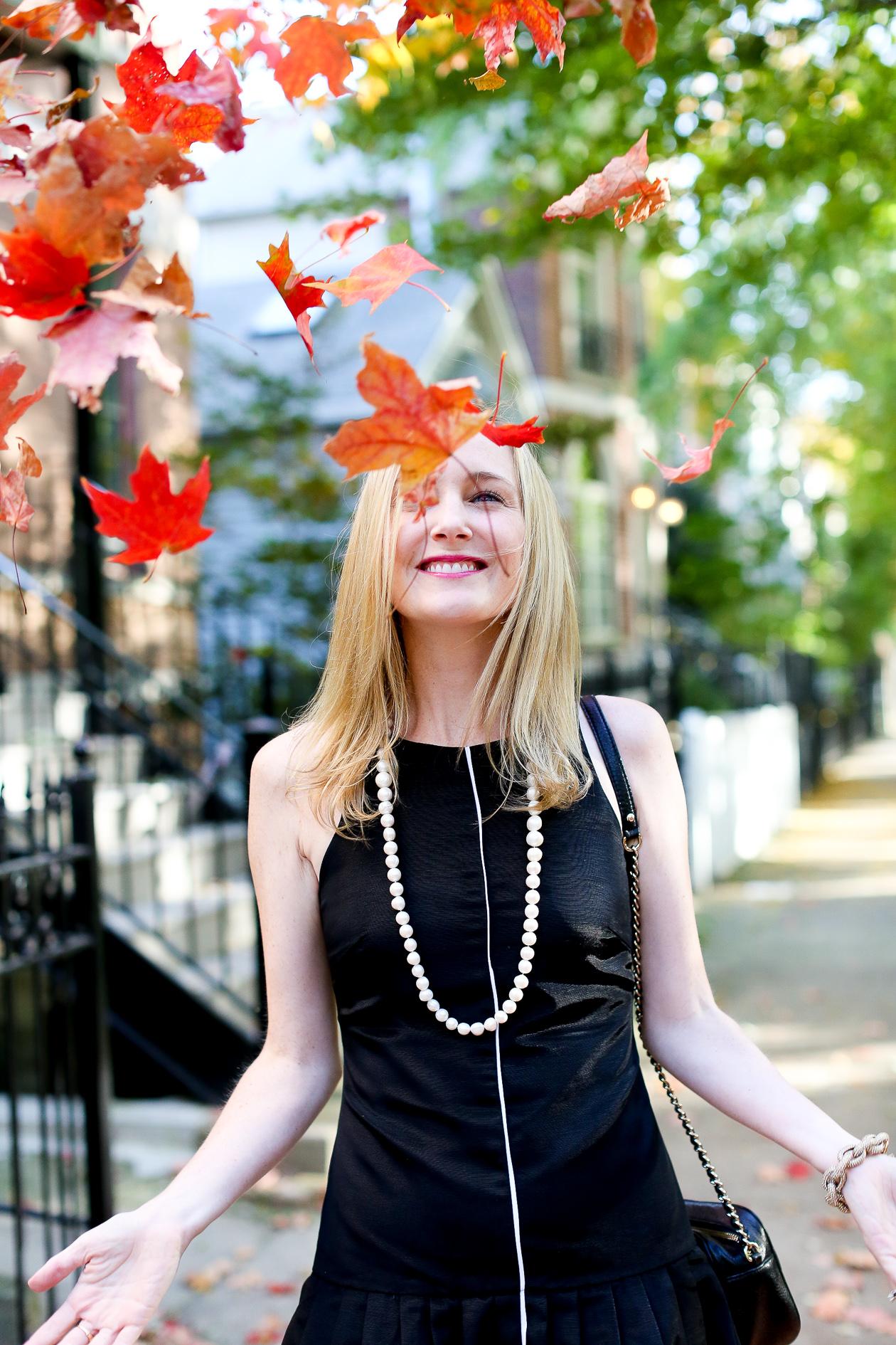 Camilyn Beth Black Ruffled Dress-45