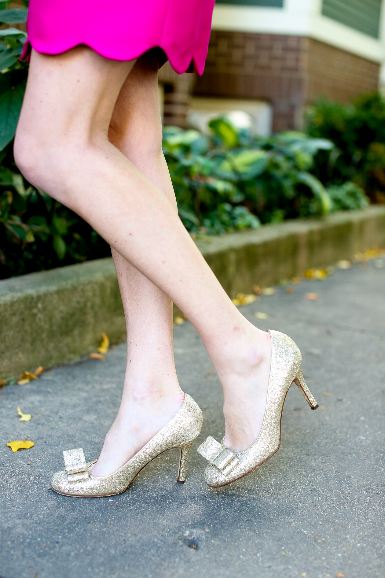 Camilyn Beth Scalloped Bridgette Dress-300