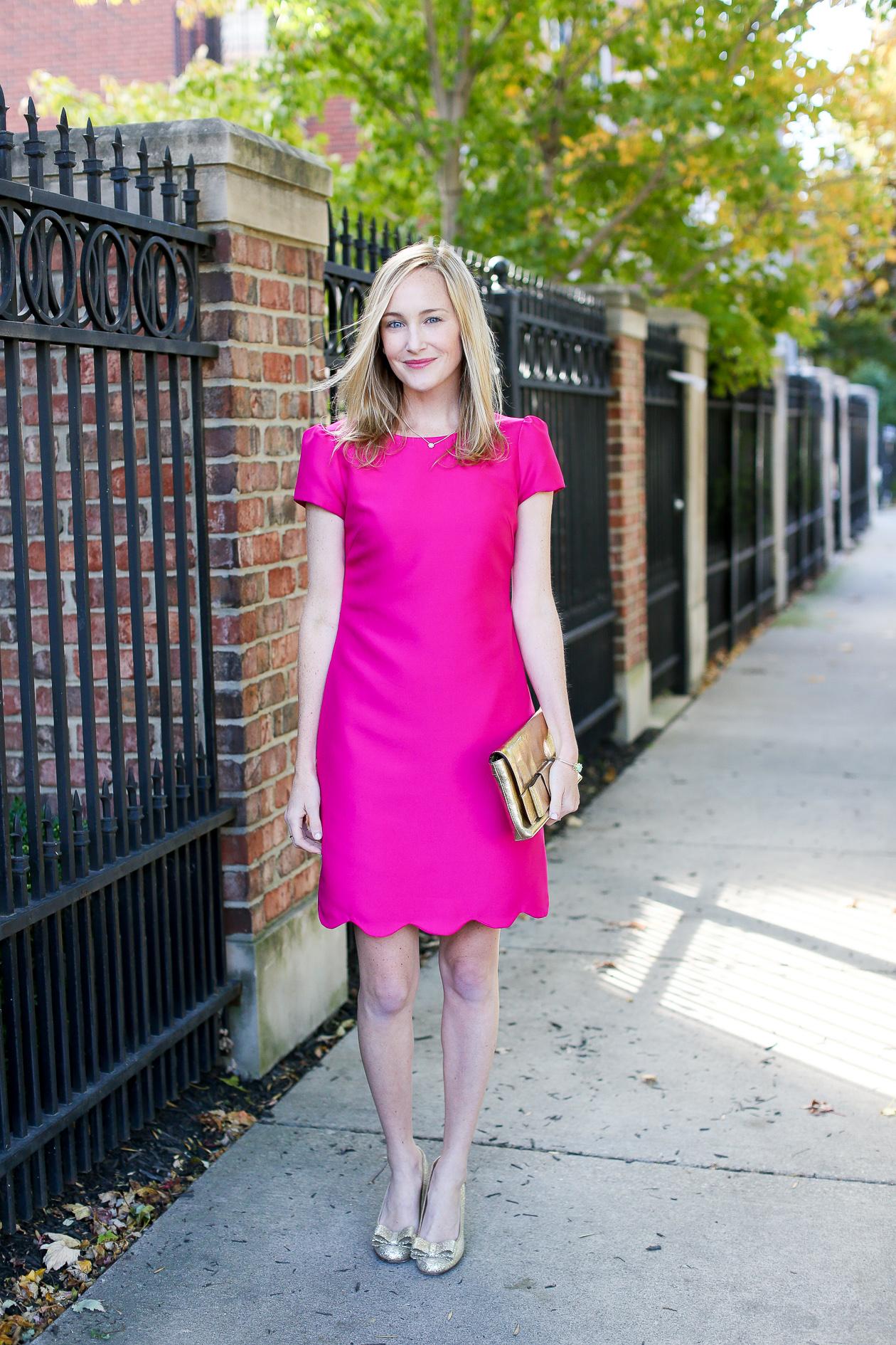 Camilyn Beth Scalloped Bridgette Dress-37