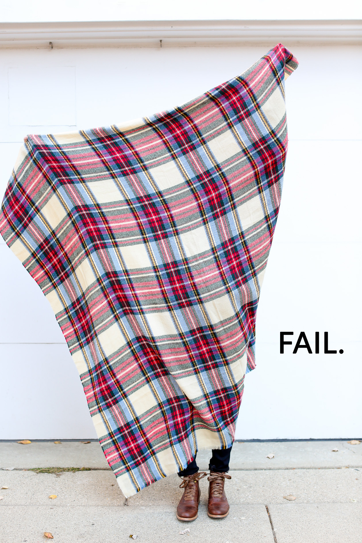 How to tie a blanket scarf-22