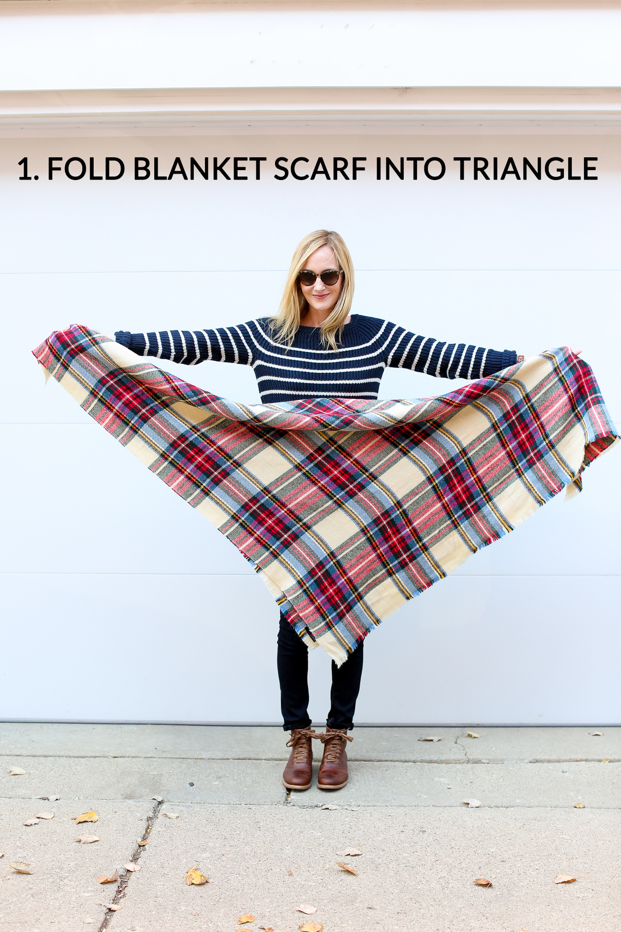How to tie a blanket scarf-25a