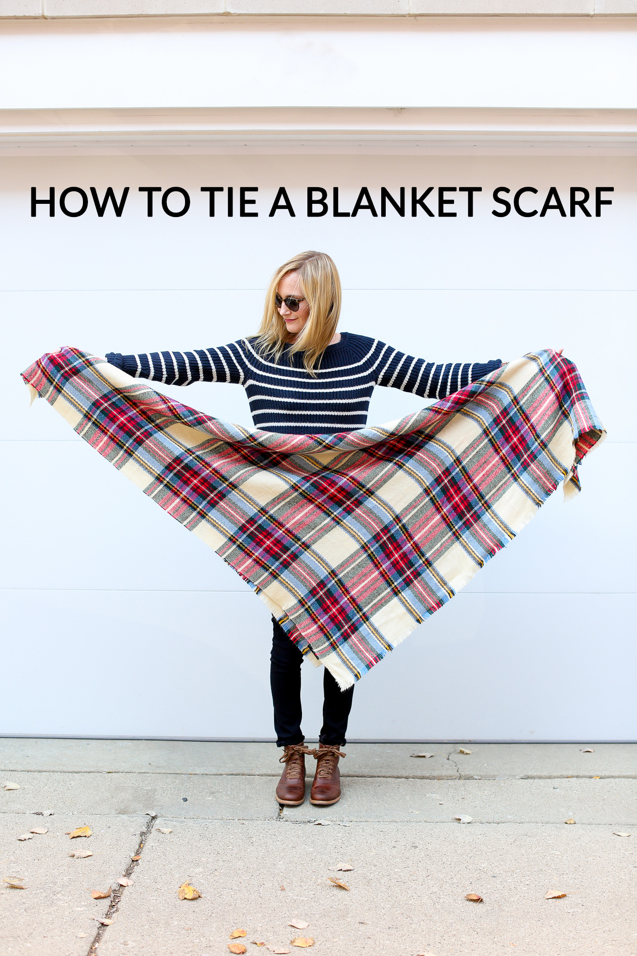 How to tie a blanket scarf-26