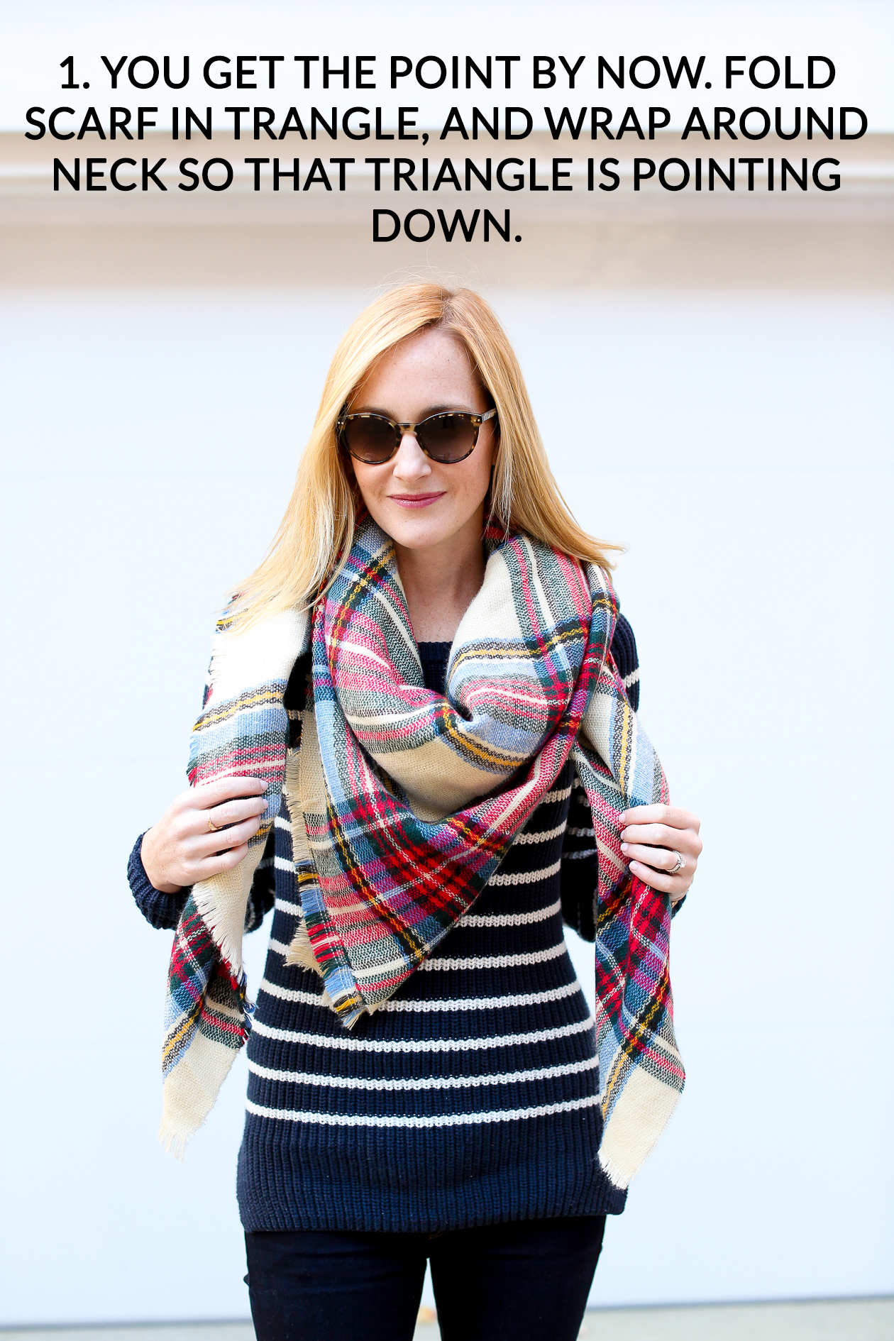 How to tie a blanket scarf-47b