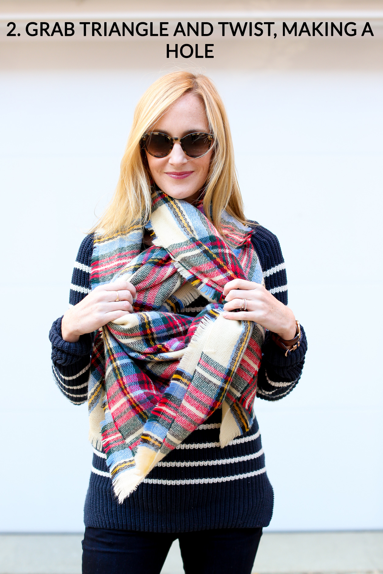 How to tie a blanket scarf-48a
