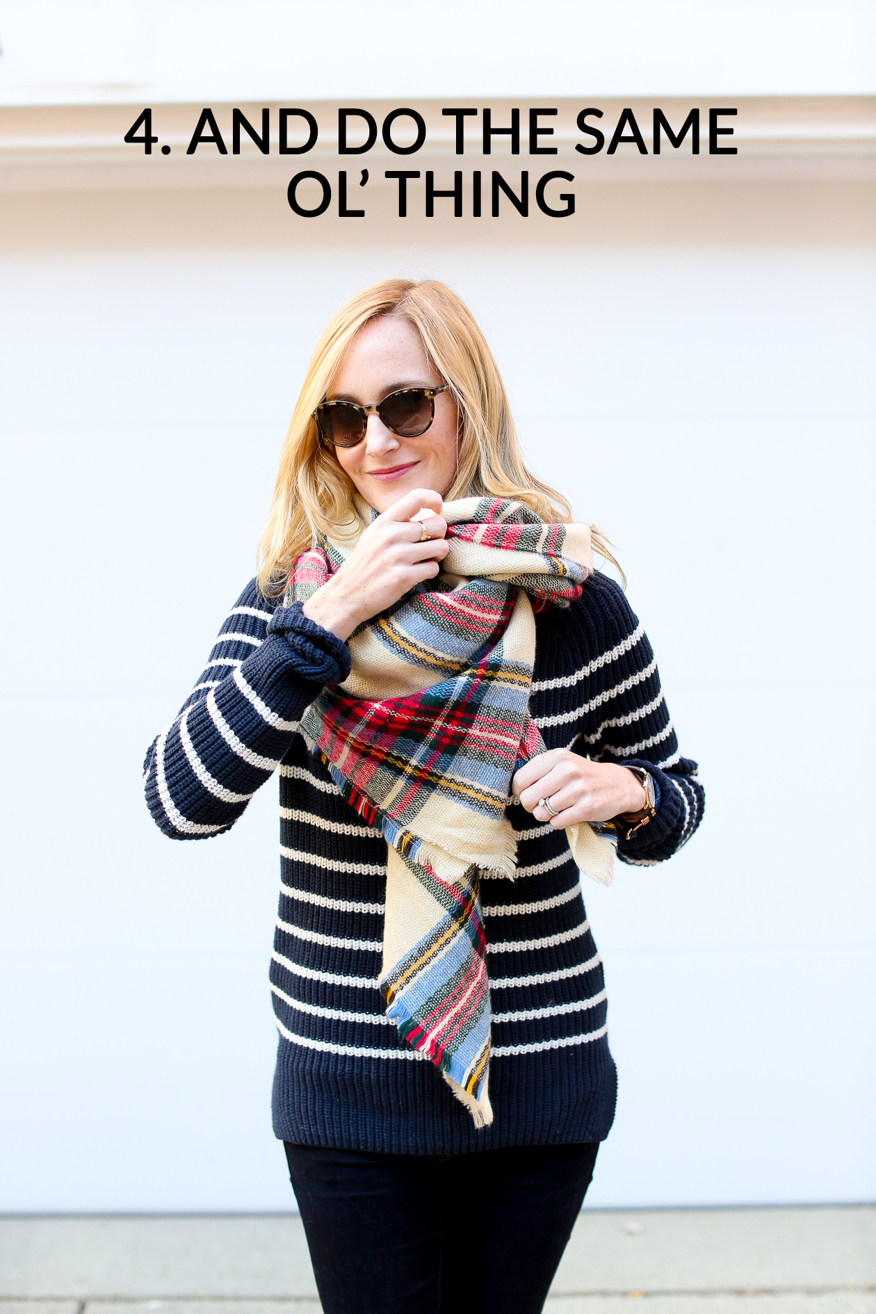 How to tie a blanket scarf-76a