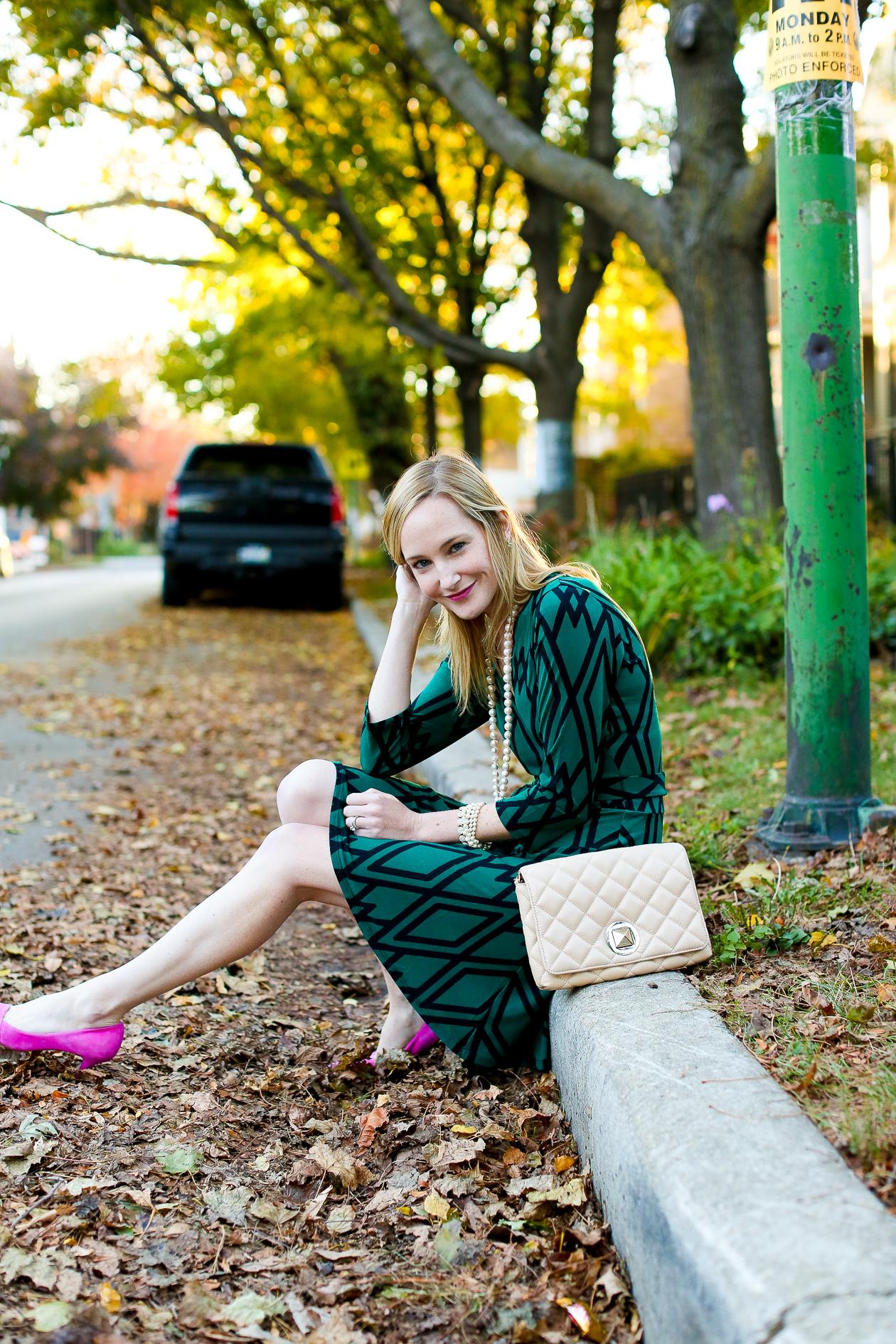 Leota Dress Pink Suede Pumps-39