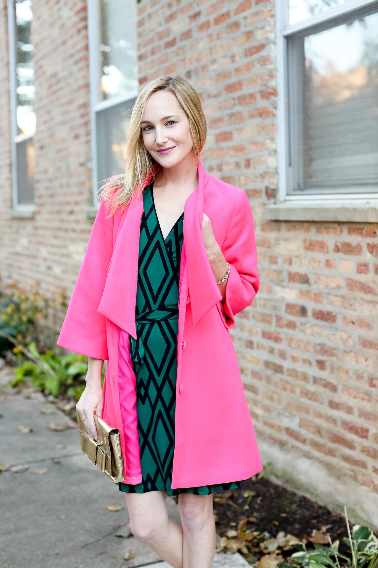 Leota Dress Pink Suede Pumps-77