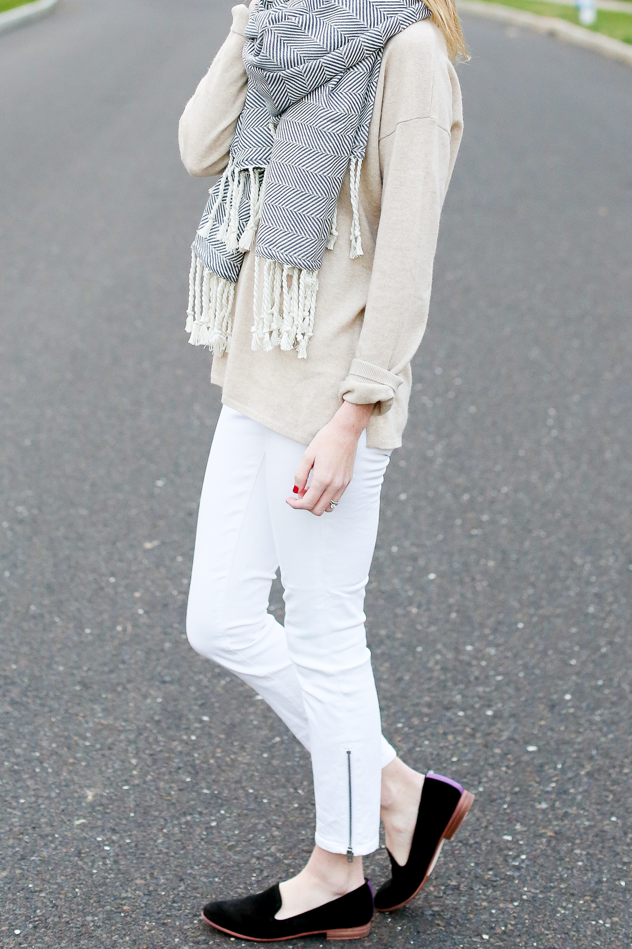 Madewell White Jeans-13