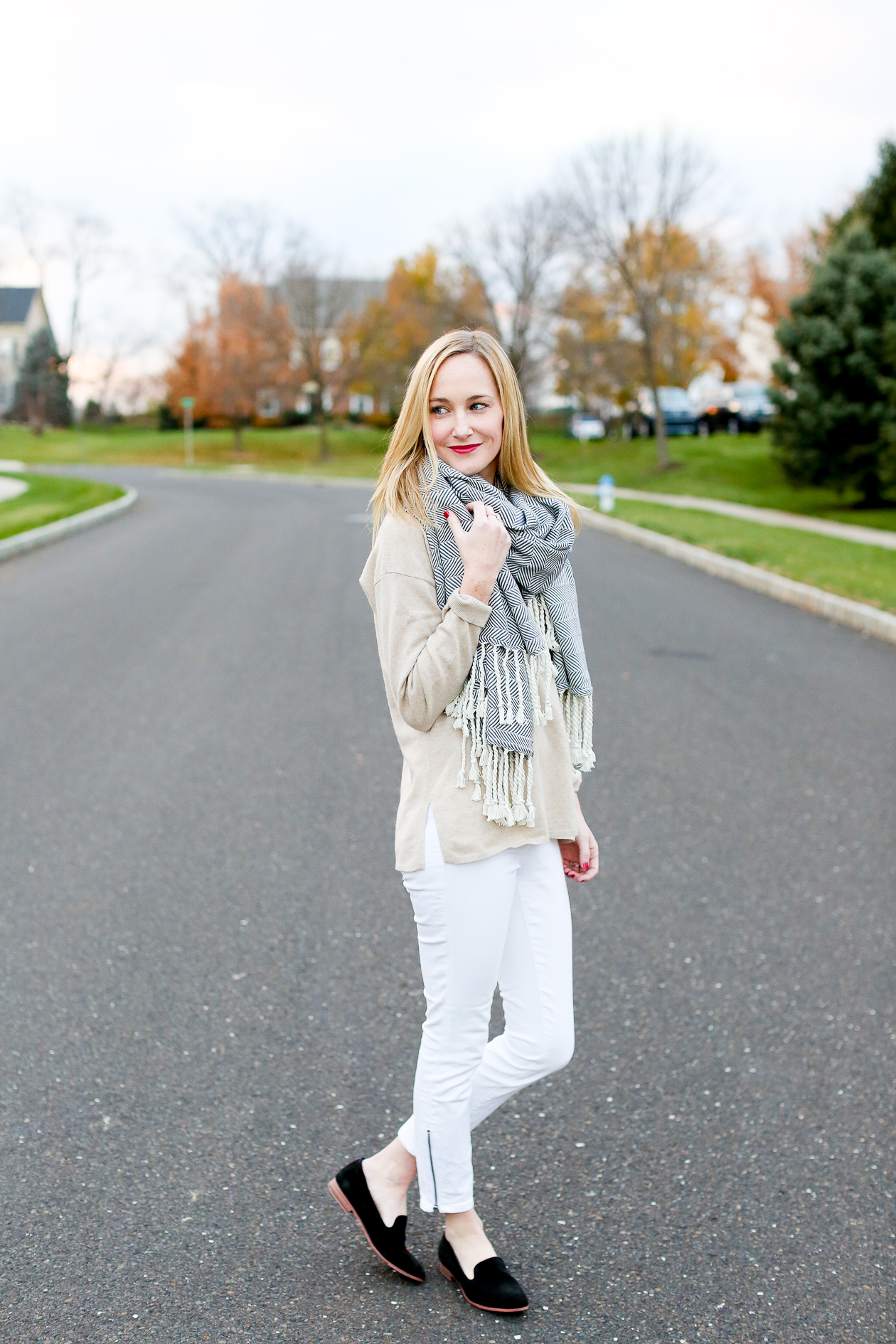 Madewell White Jeans-15