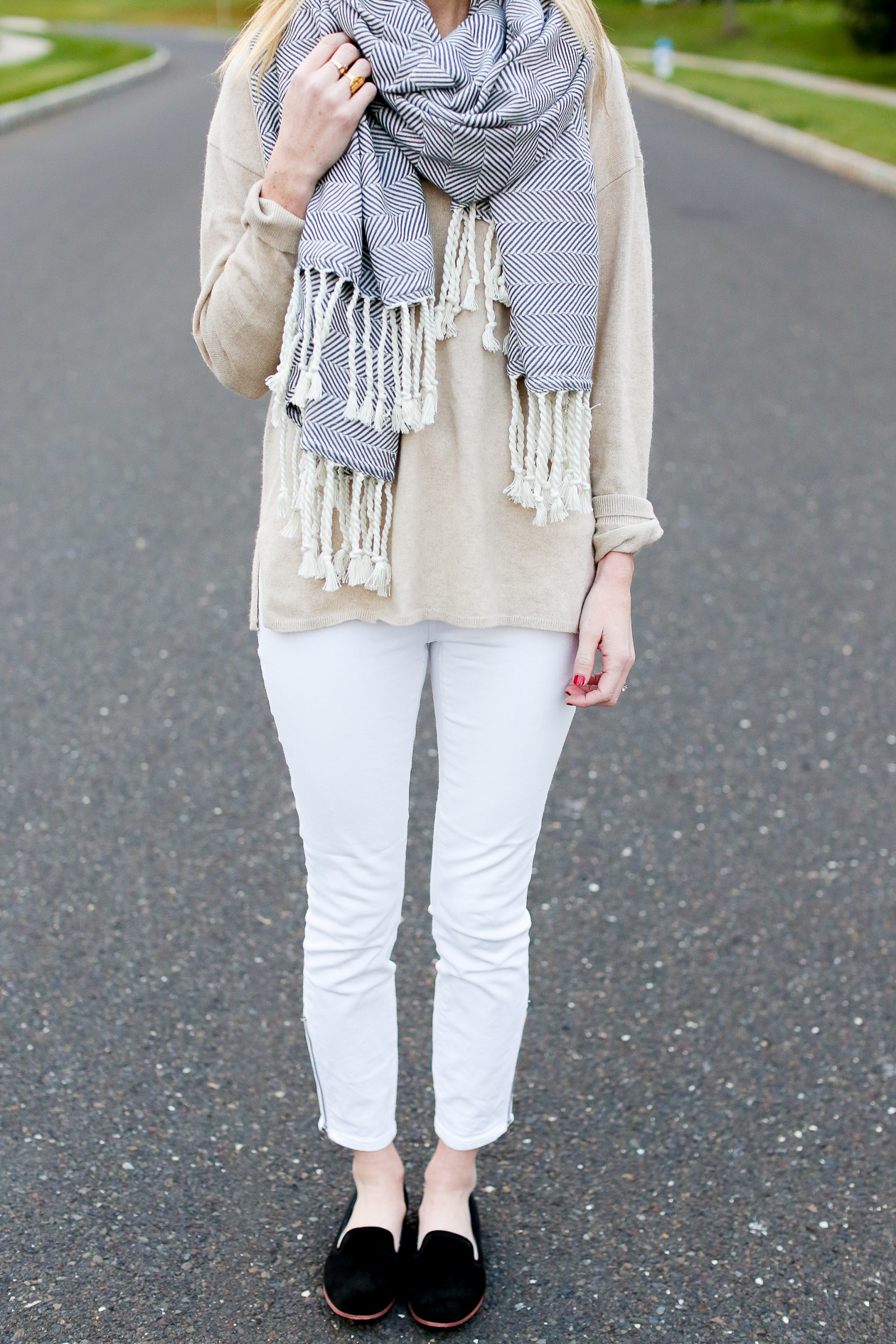 Madewell White Jeans-21