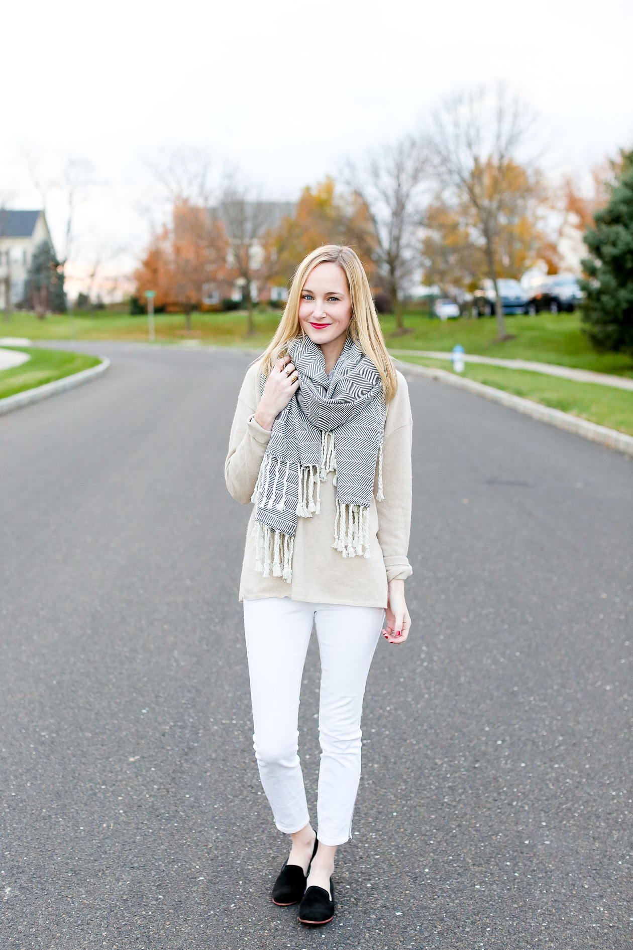 Madewell White Jeans-3