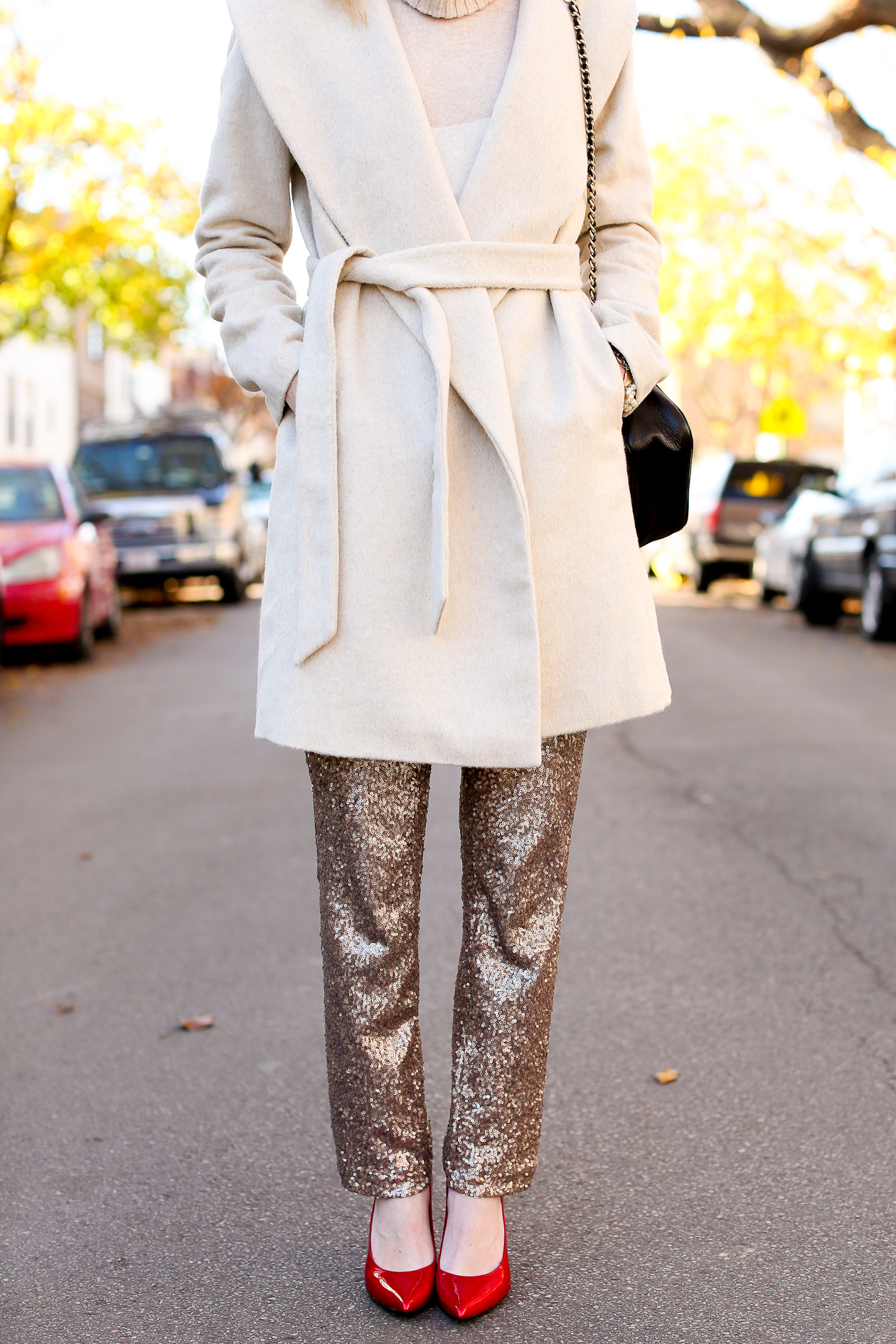 Sequin Dress Pants-15
