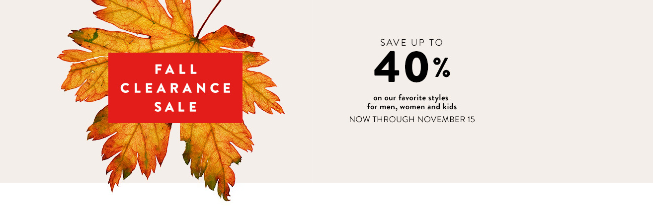 nordstrom fall clearance sale