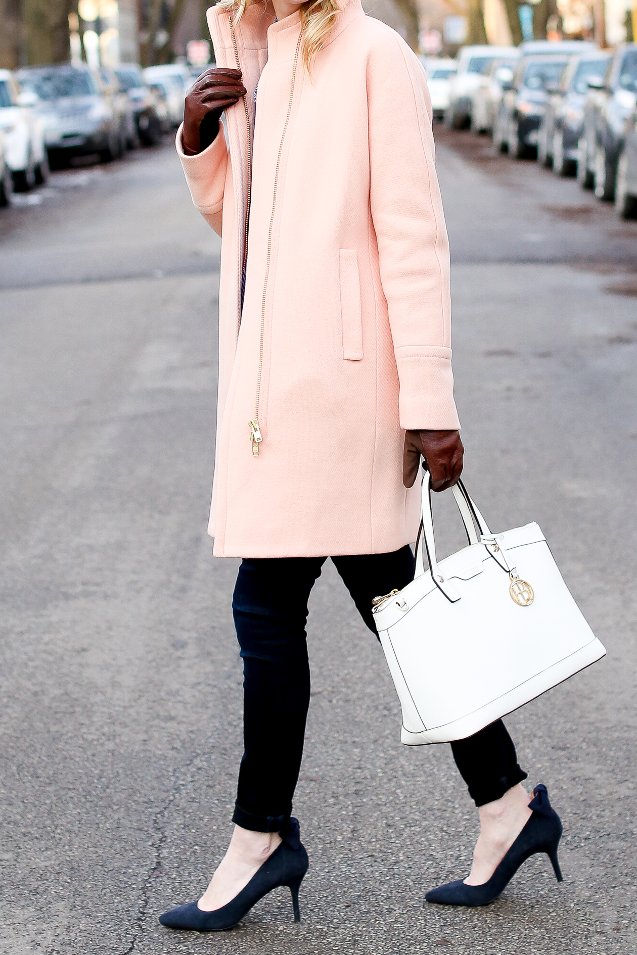j.crew pink cocoon coat chicago fashion blogger-36