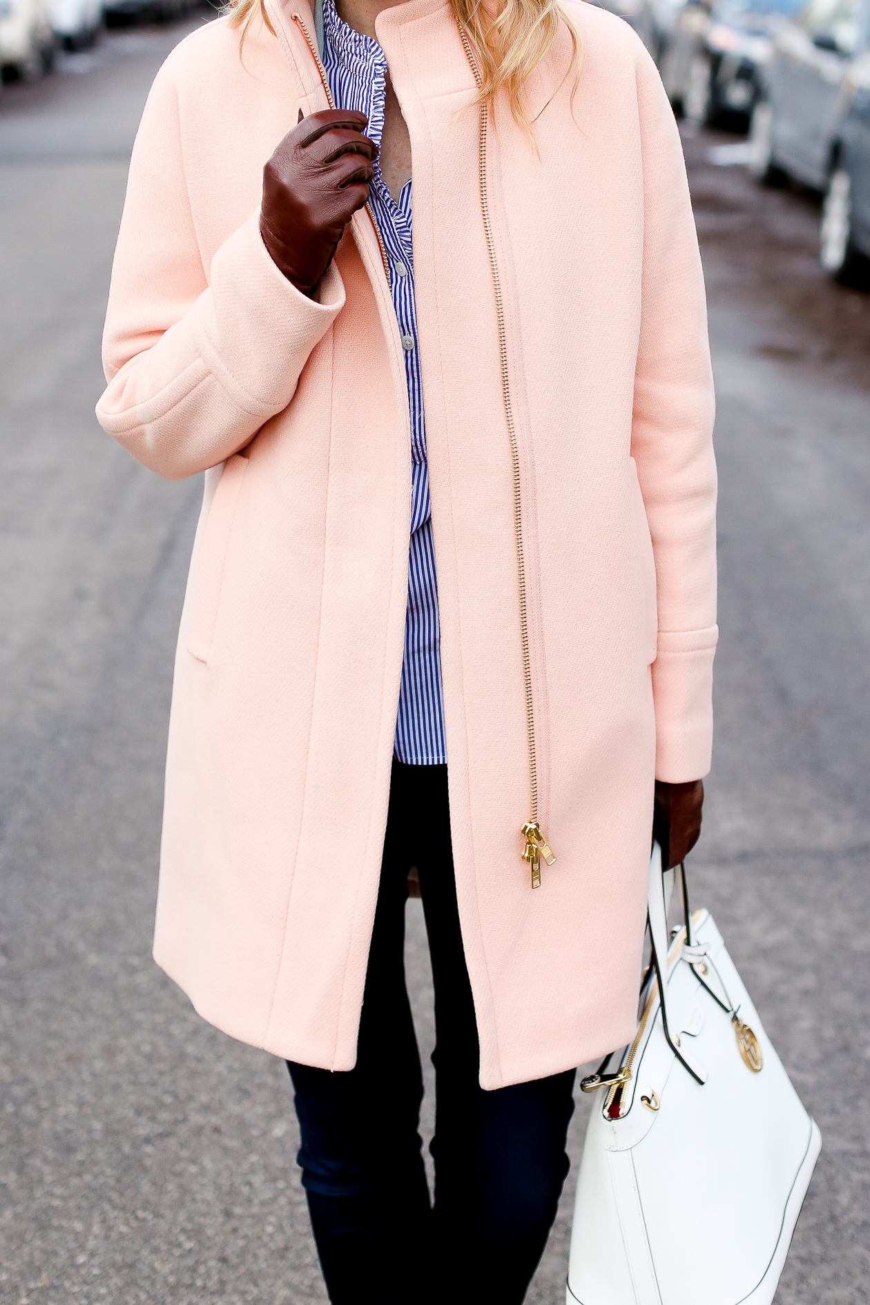 j.crew pink cocoon coat chicago fashion blogger-39