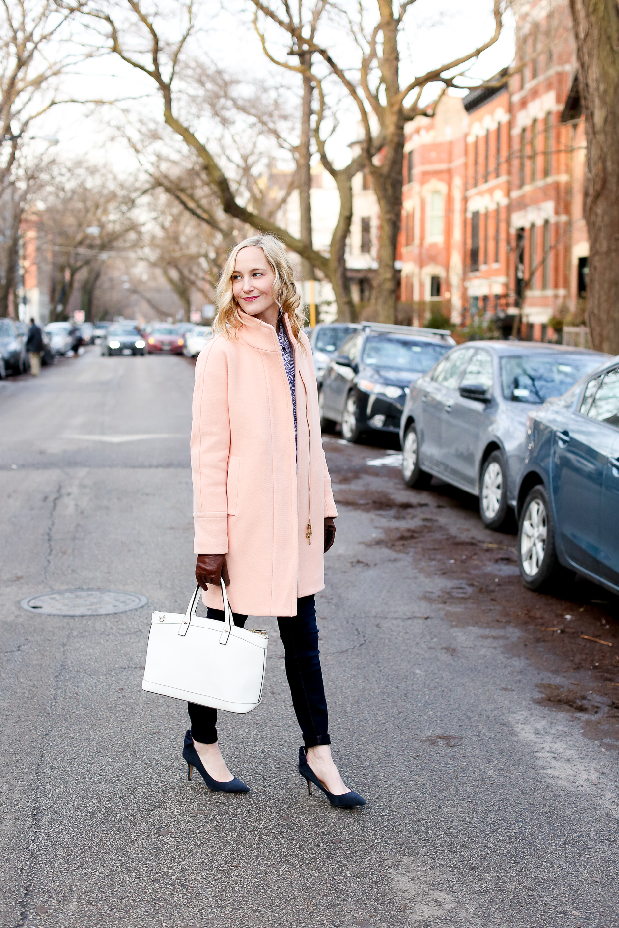 j.crew pink cocoon coat chicago fashion blogger-65