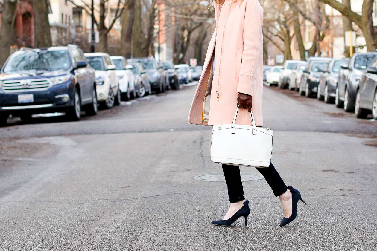 j.crew pink cocoon coat chicago fashion blogger-89