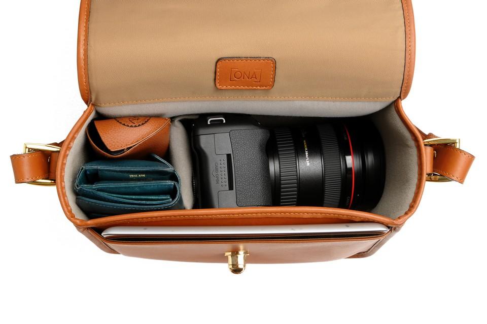 preppy camera bag
