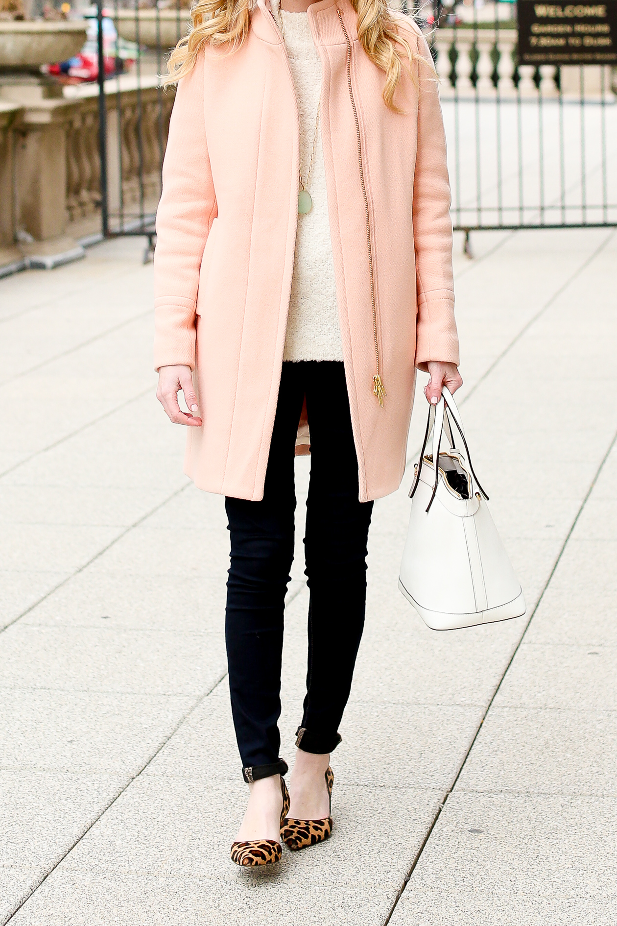 J.Crew Light Pink Cocoon Coat-1