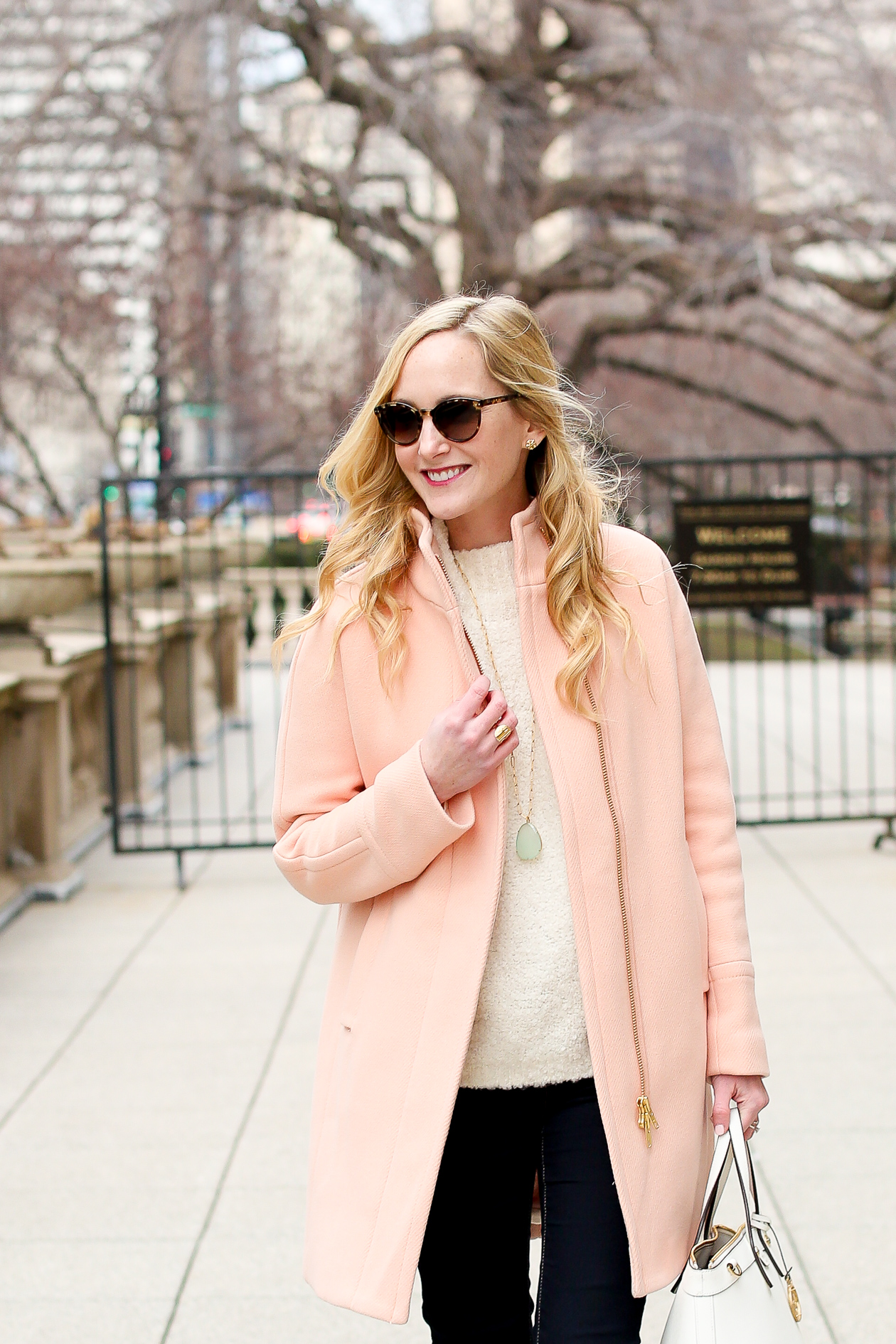 J.Crew Light Pink Cocoon Coat-31