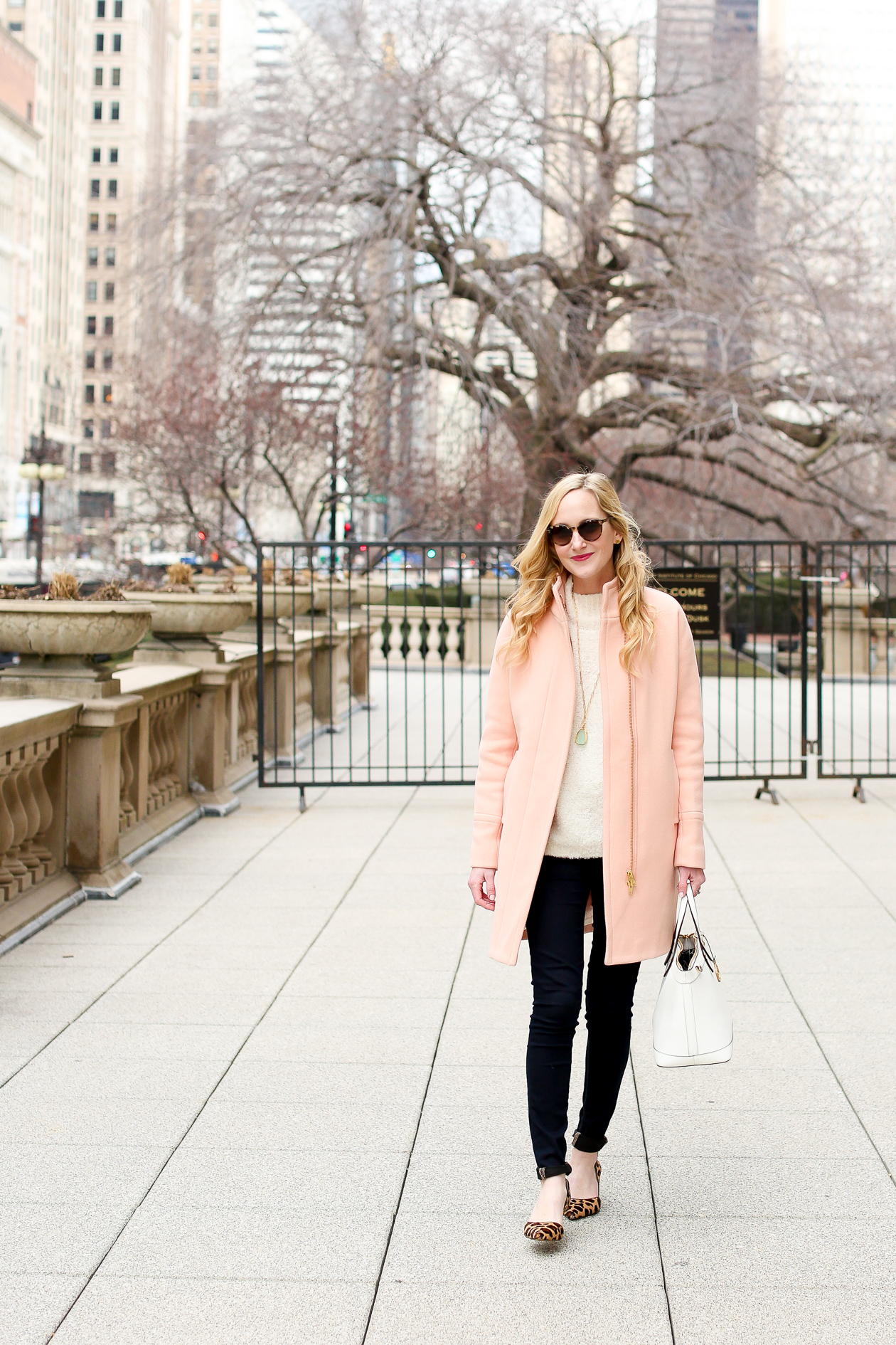 J.Crew Light Pink Cocoon Coat-34