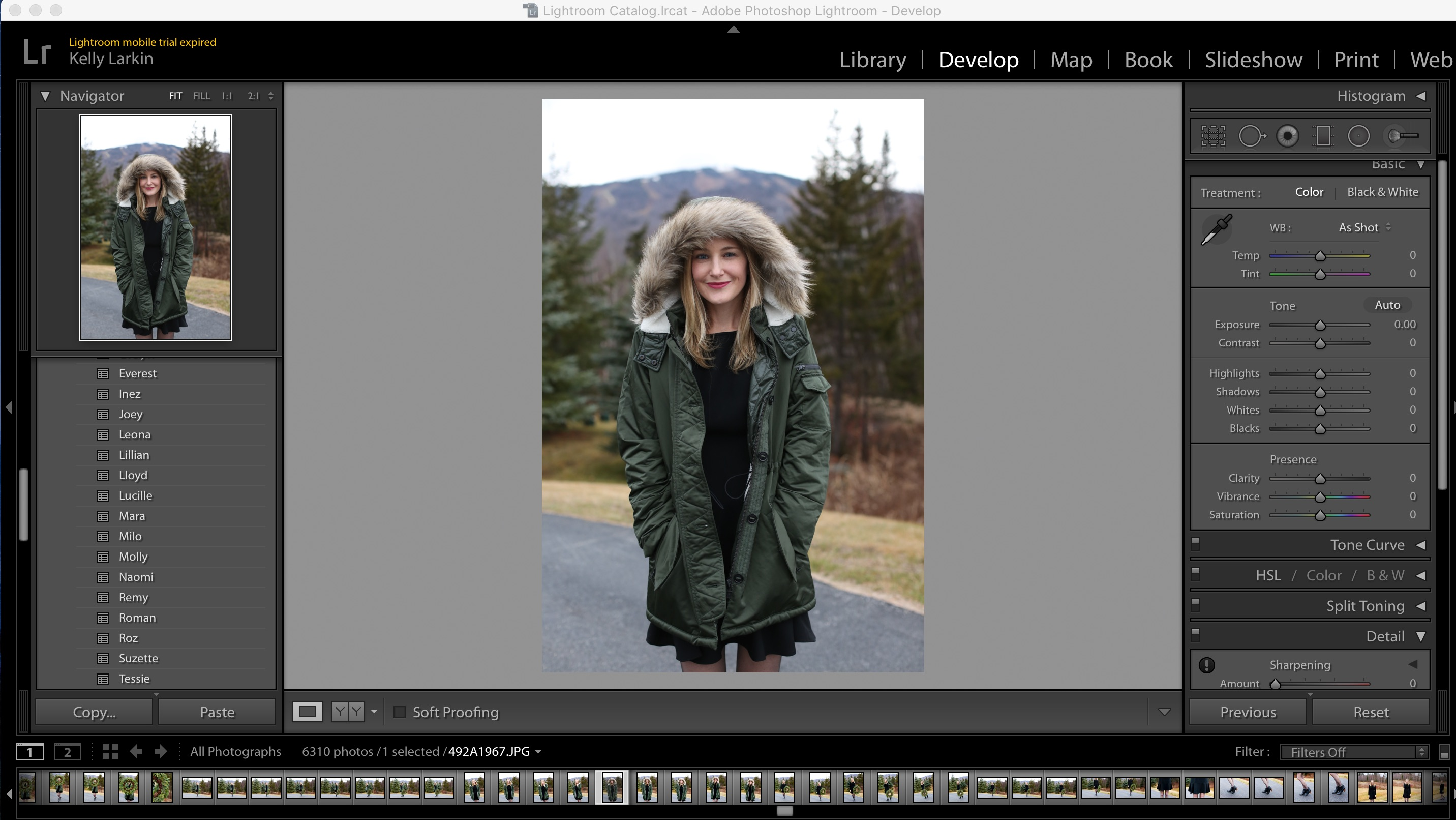 how to edit in lightroom