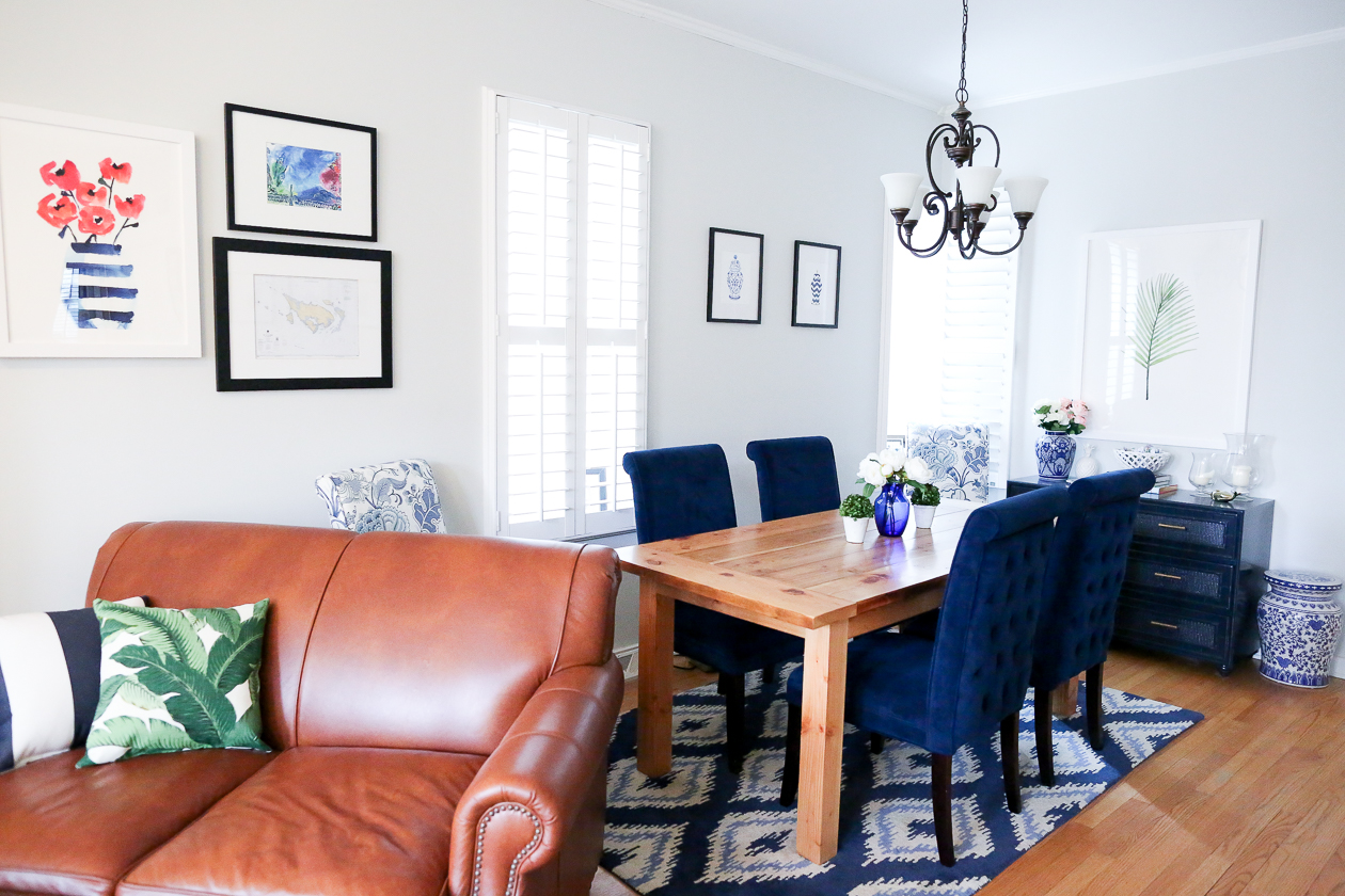 preppy dining room navy-20