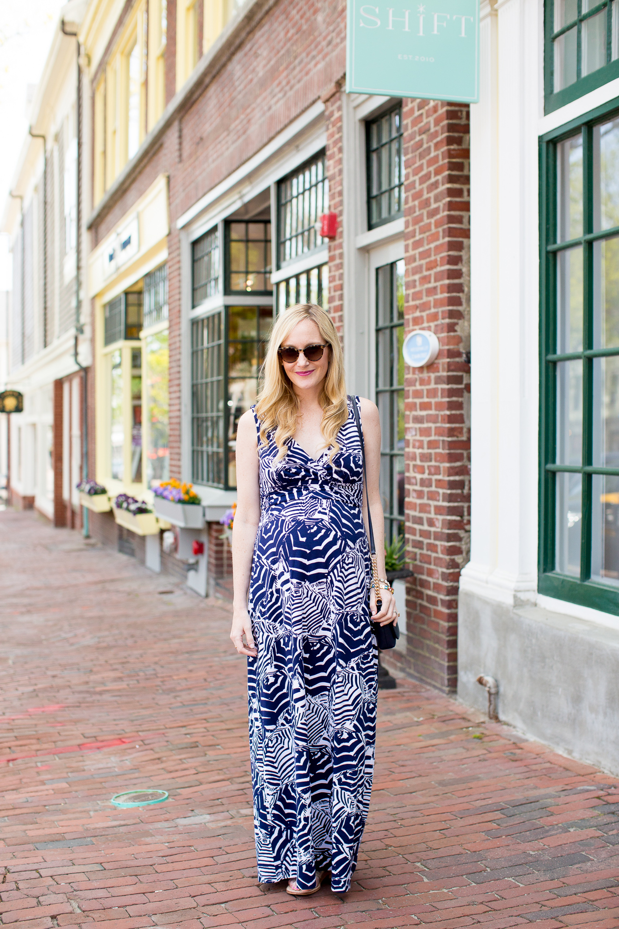 Lilly Pulitzer Sloane Maxi Dress Maternity Pregnancy-5