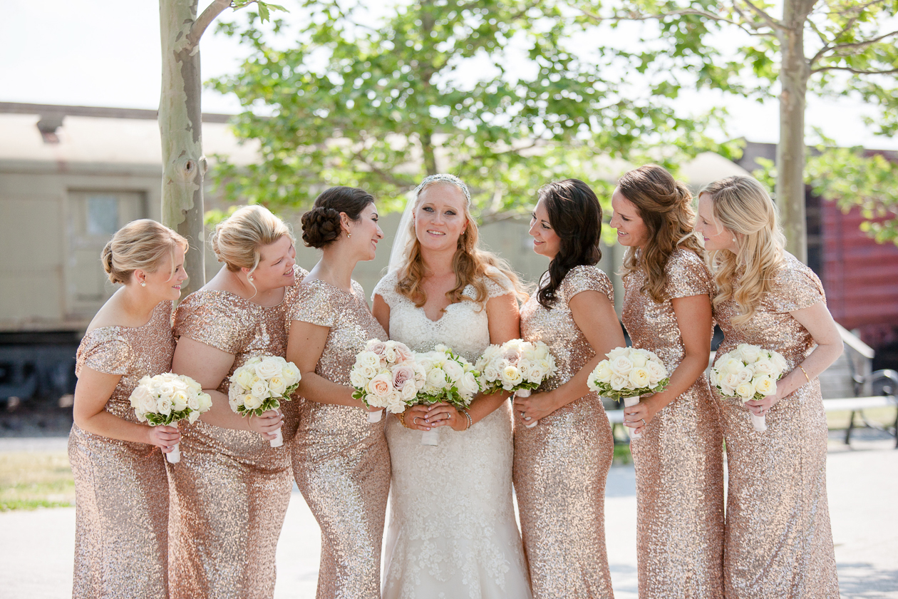 Rent the Runway Sequin Bridesmaid Gown - Kelly in the City