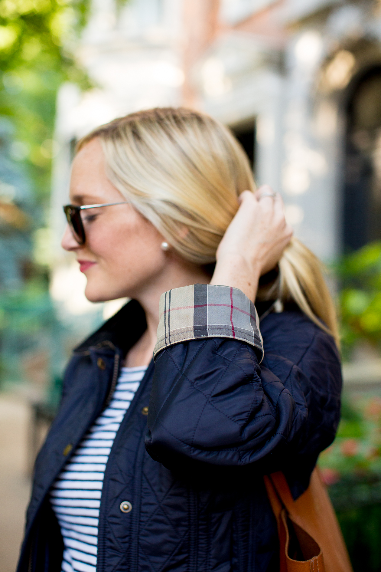 Barbour Beadnell Quilted Jacket-718