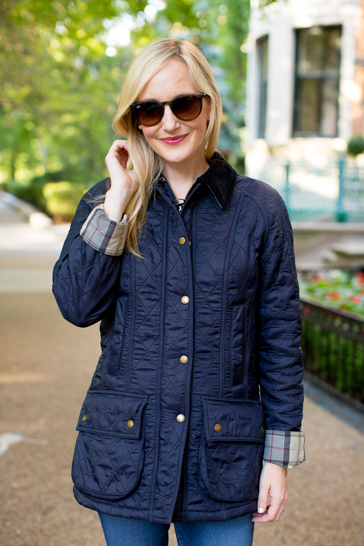 Barbour Beadnell Quilted Jacket-746