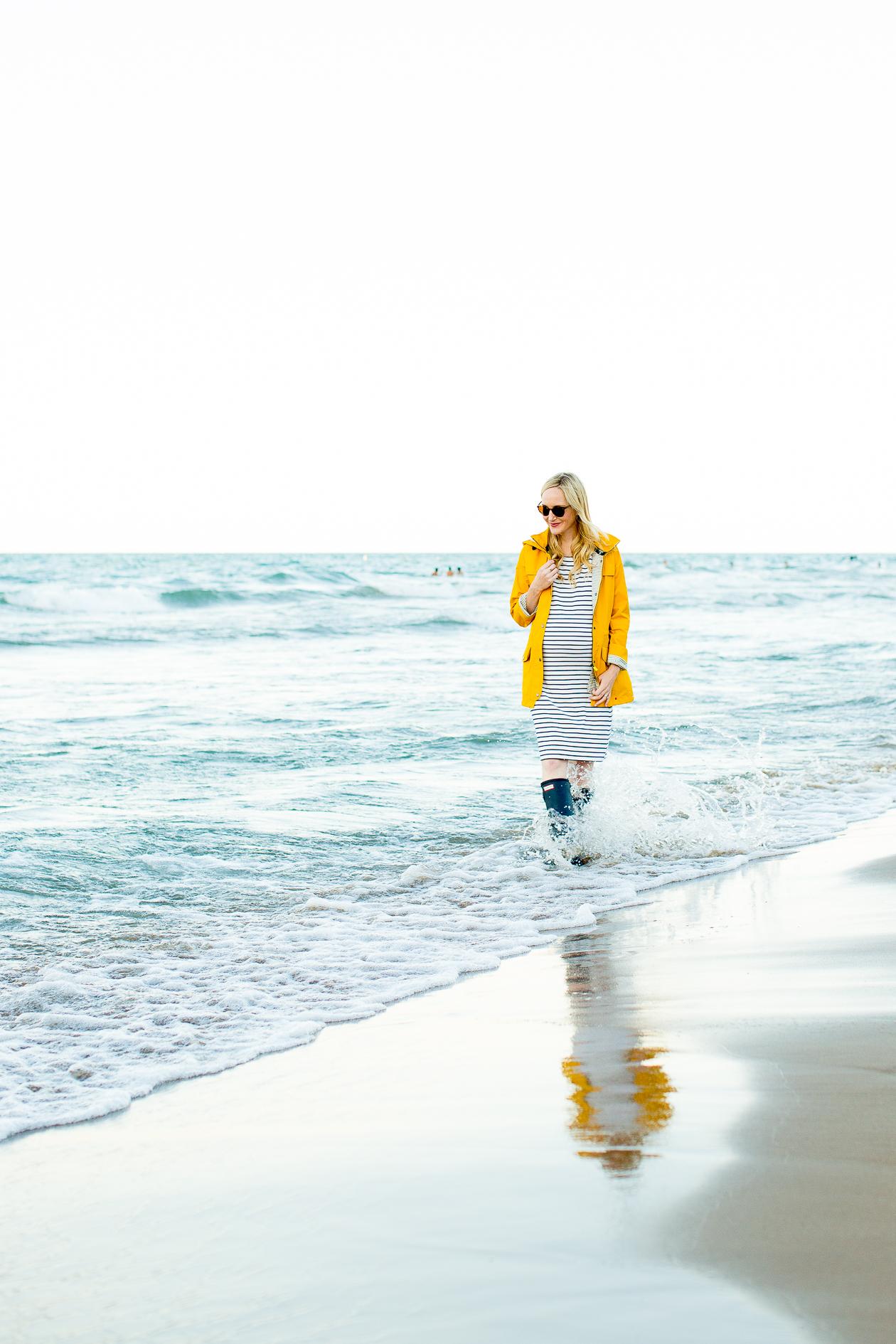 Barbour Trevose Yellow Raincoat-113