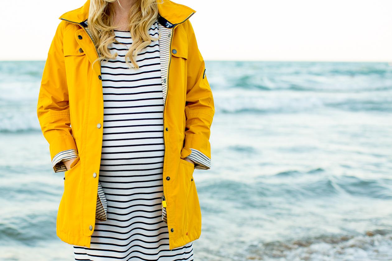 Barbour Trevose Yellow Raincoat-129