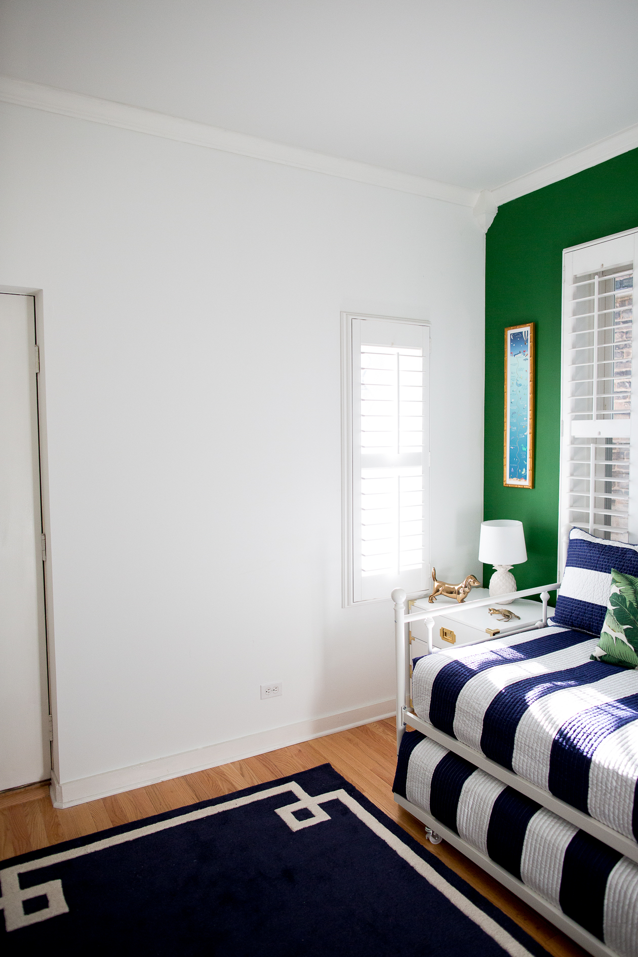 preppy-green-walls-gold-frames-1