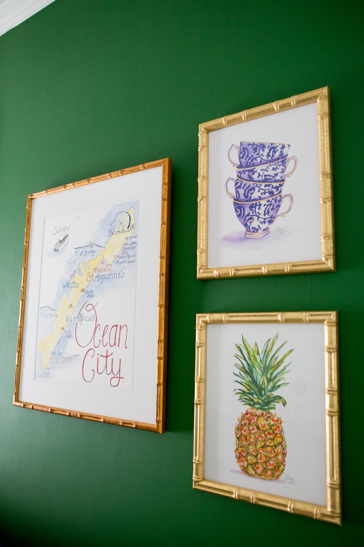 preppy-green-walls-gold-frames-38