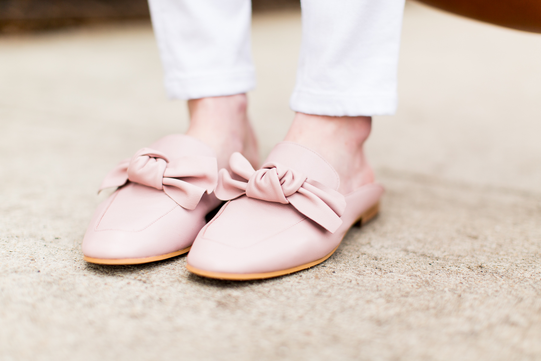 The Bows Are Back In Town Pink Bow Mules At Nordstrom