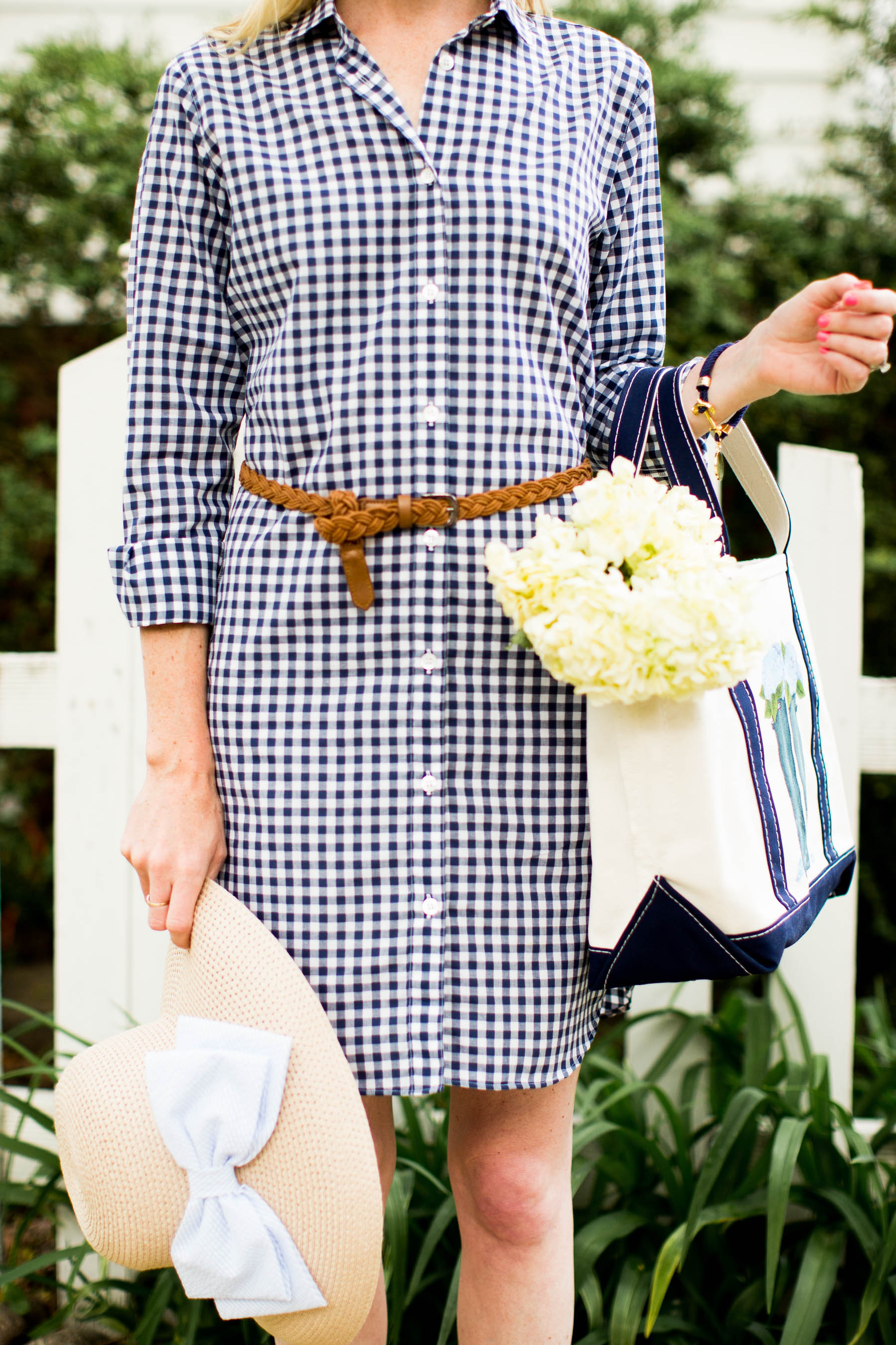 Kiel James Patrick Gingham Dress