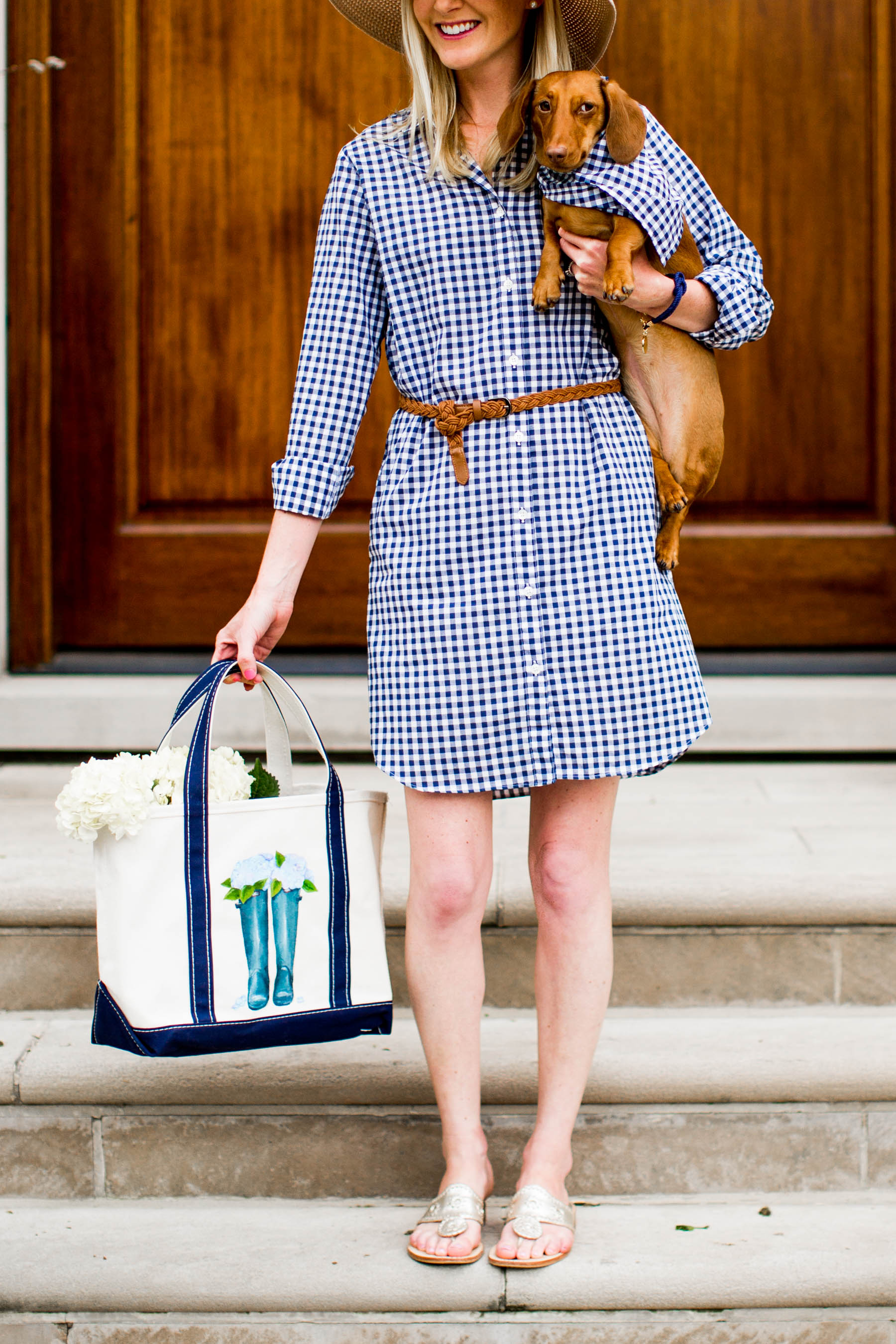 Kiel James Patrick Gingham Dress - Kelly in the City