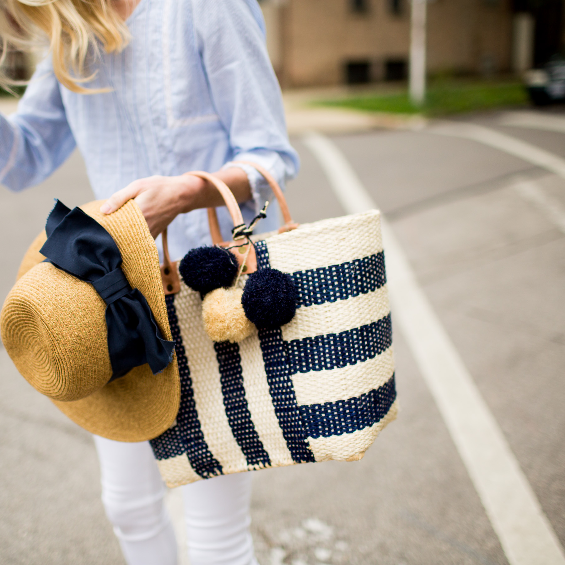 Mar Y Sol Tote  / Tuckernuck Hat