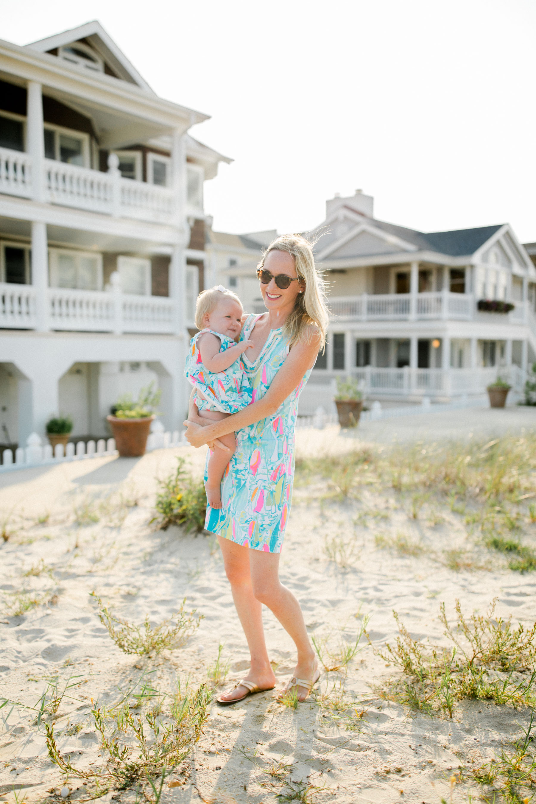 Lilly Pulitzer matching mother daughter