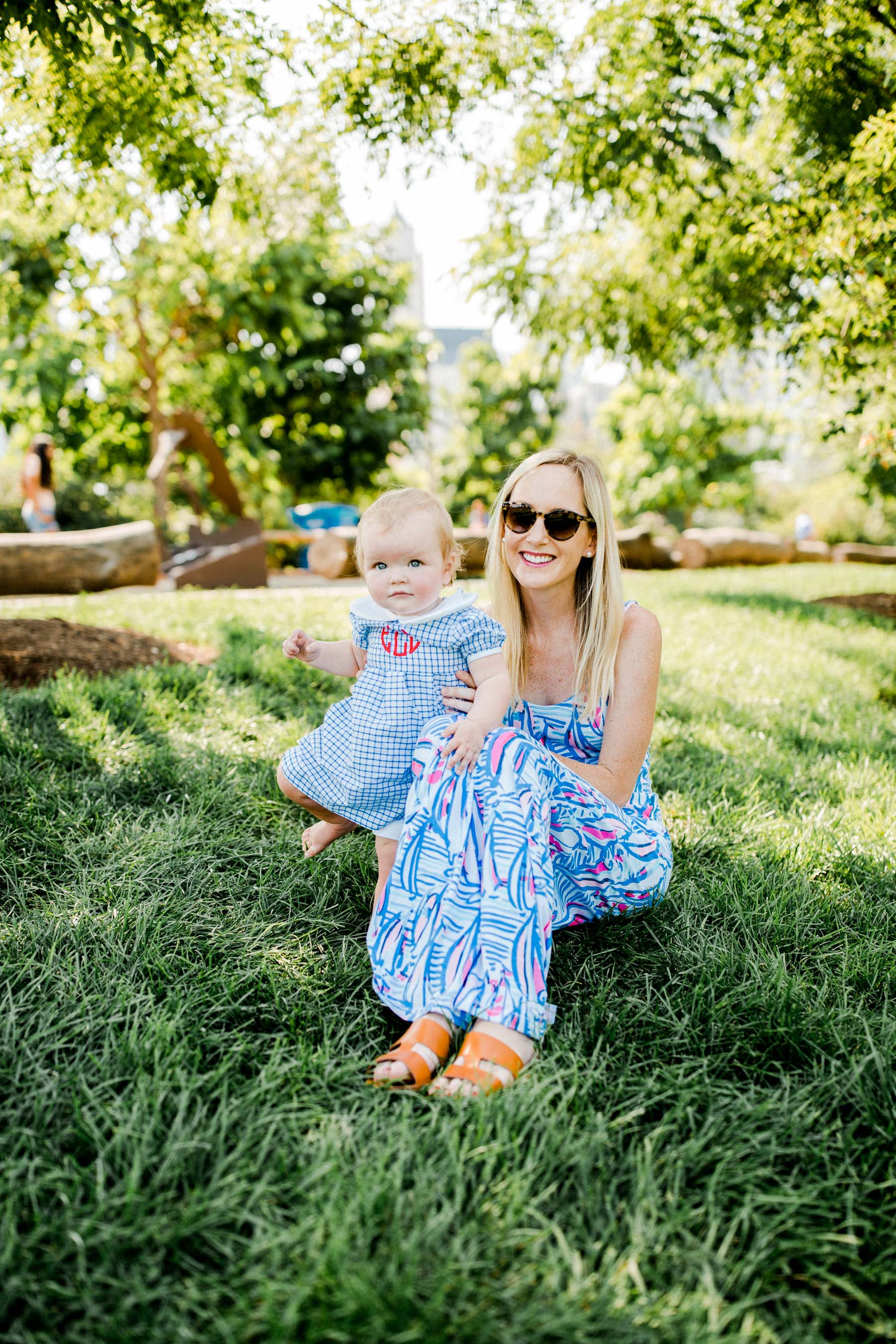 Kelly and Emma Larking Maggie Daley Park (+ a Giveaway!)